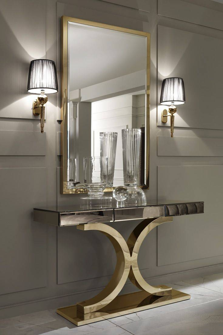 Best 25+ Wall Mirrors Ideas On Pinterest | Cheap Wall Mirrors intended for Long Gold Mirrors (Image 8 of 25)