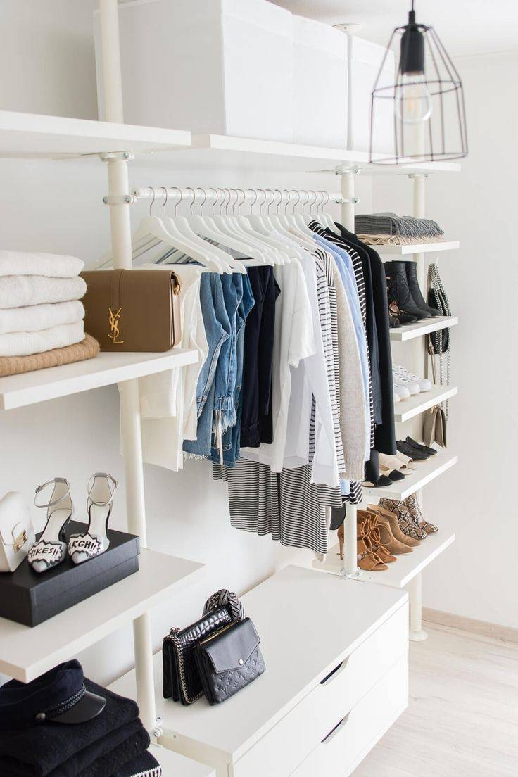 Best 25+ Wardrobe Organiser Ideas On Pinterest | Wardrobe Interior regarding Single Wardrobe With Drawers and Shelves (Image 10 of 30)