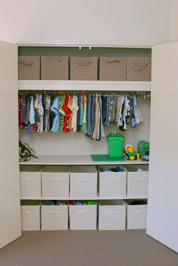 Best 25+ Wardrobe Storage Ideas On Pinterest | Ikea Walk In regarding Double Black Covered Tidy Rail Wardrobes (Image 9 of 30)