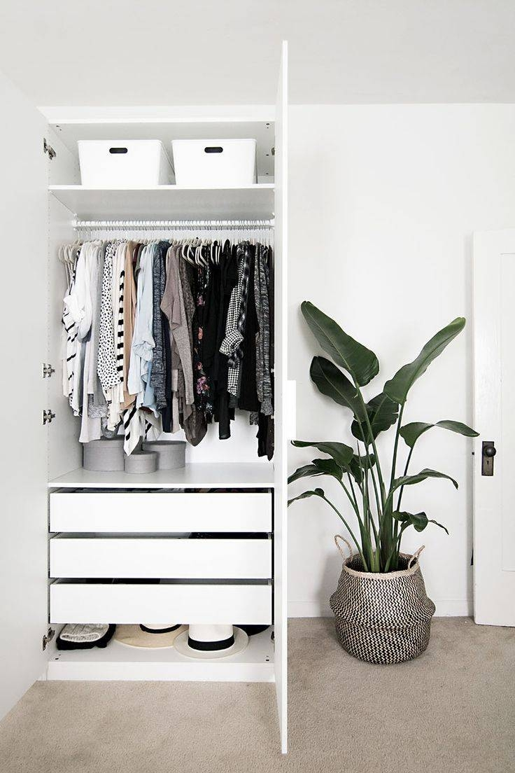 Best 25+ Wardrobe Storage Ideas On Pinterest | Ikea Walk In with regard to Double Black Covered Tidy Rail Wardrobes (Image 10 of 30)