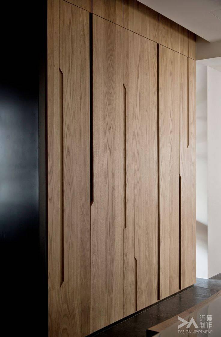Best 25+ Wardrobes With Sliding Doors Ideas On Pinterest | Wall inside Dark Wood Wardrobe Doors (Image 6 of 30)