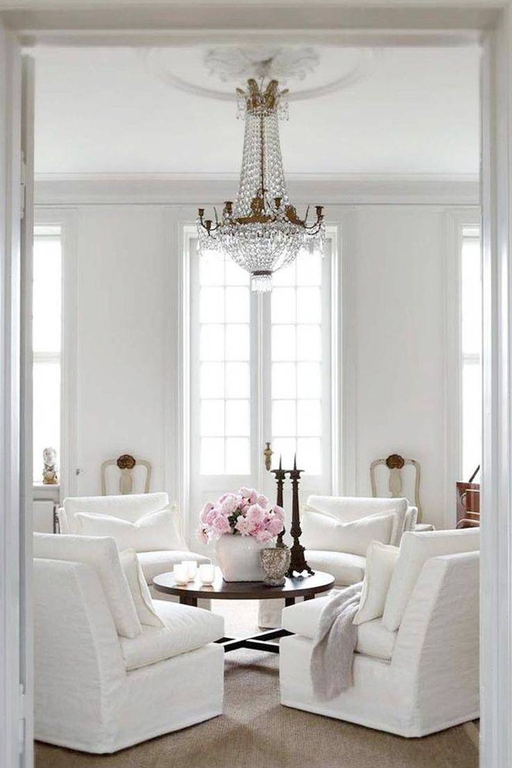 Best 25+ White Round Coffee Table Ideas Only On Pinterest throughout French White Coffee Tables (Image 8 of 30)