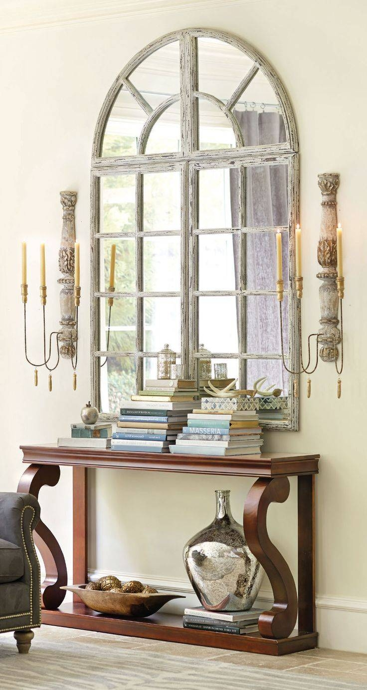 Best 25+ Window Mirror Ideas On Pinterest | Cottage Framed Mirrors inside Antique Arched Mirrors (Image 12 of 25)