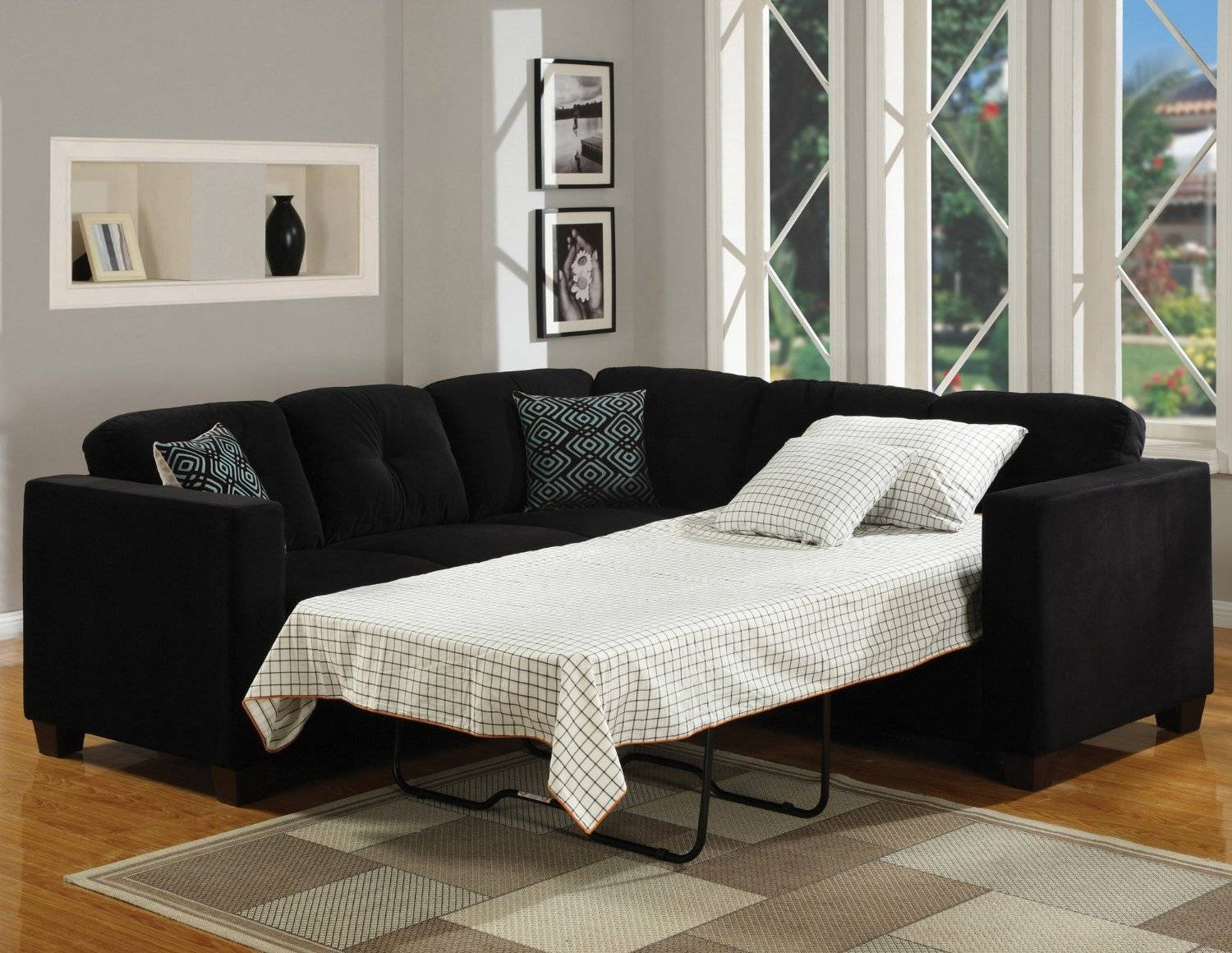 Best Cheap Sofa Bed Sectionals 21 On Diana Dark Brown Leather with regard to Diana Dark Brown Leather Sectional Sofa Set (Image 10 of 30)