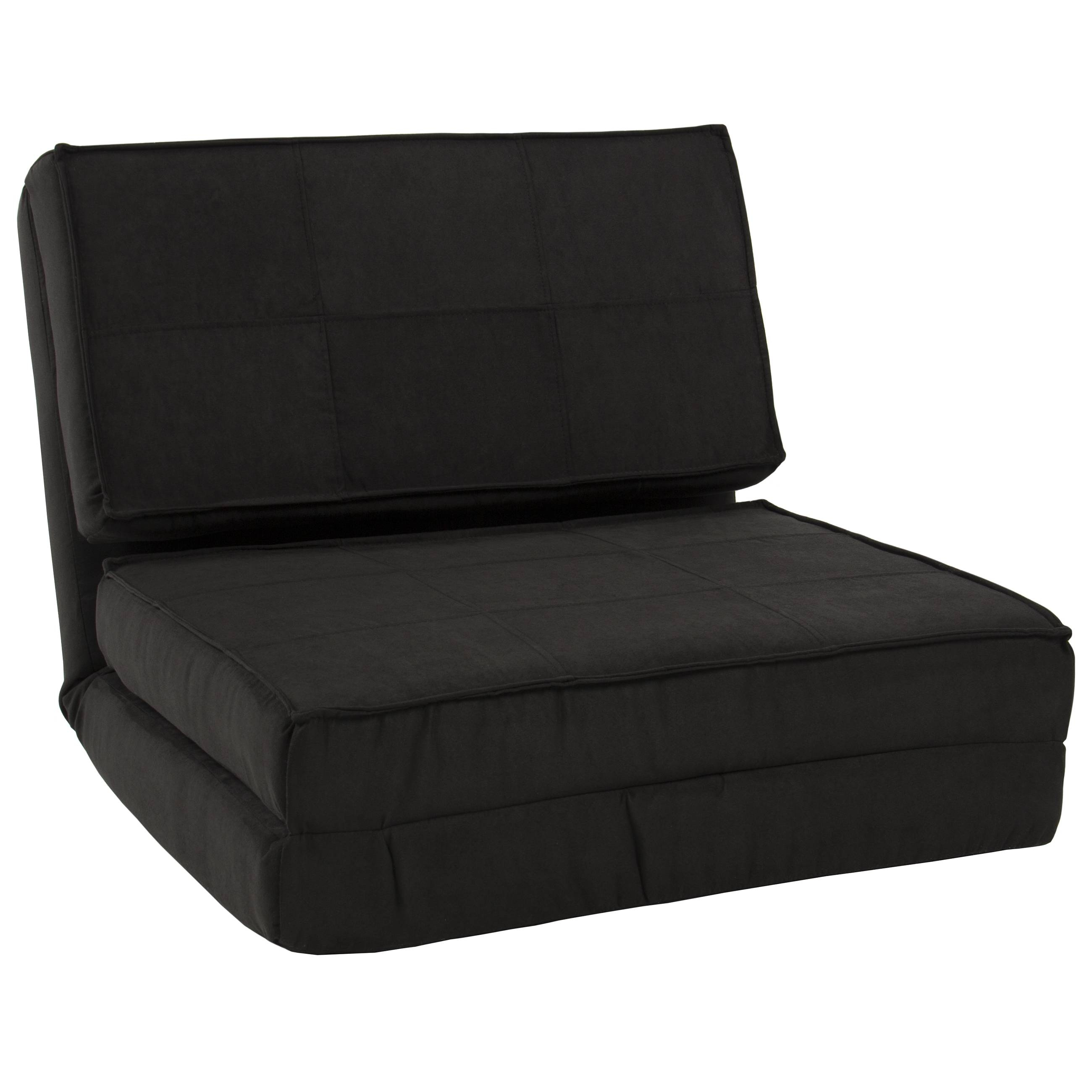 Best Choice Products Convertible Sleeper Chair Bed (Black pertaining to Folding Sofa Chairs (Image 5 of 30)