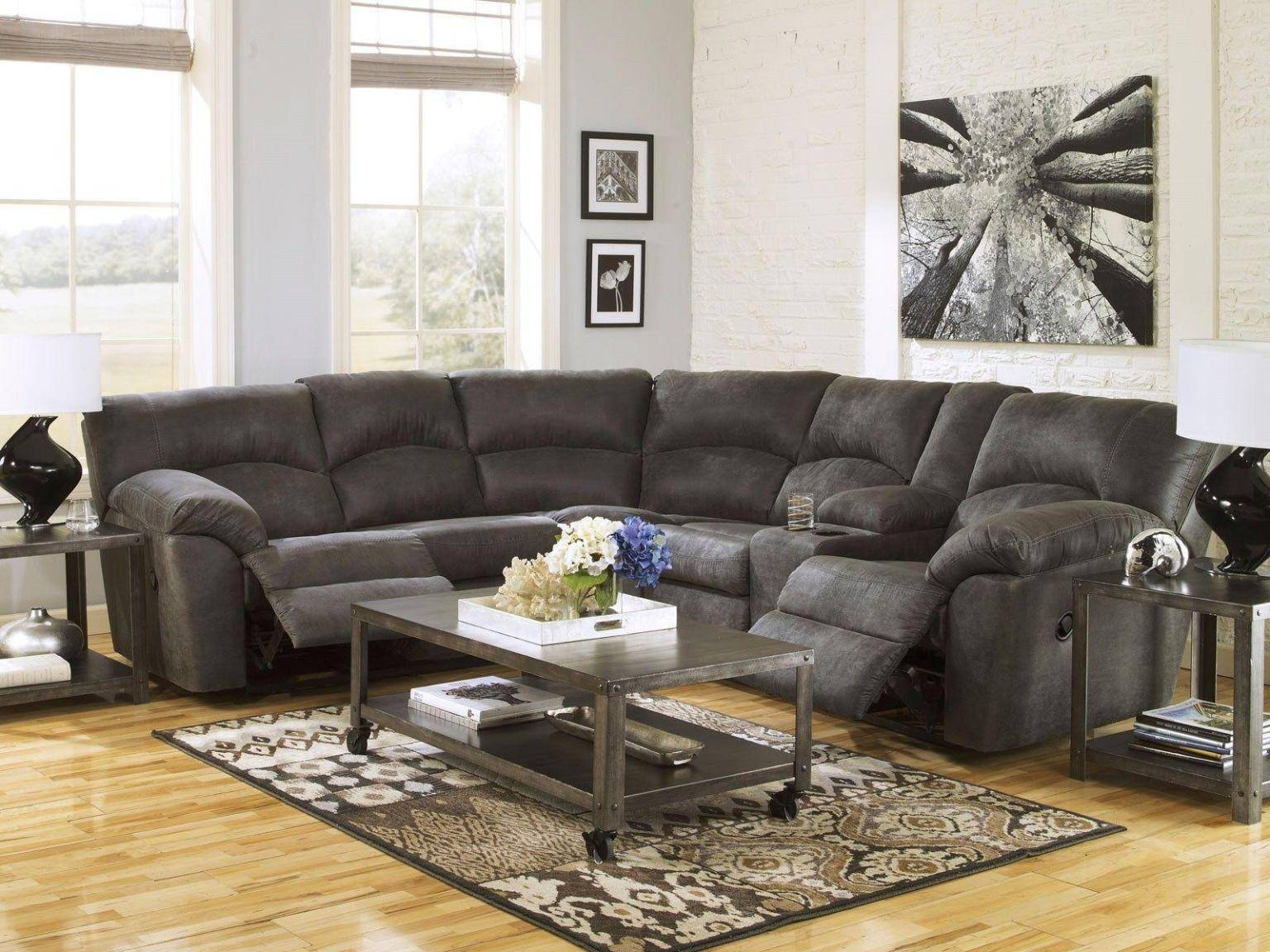 Best Design Sectional Sofas With Recliners With Regard To Sectional Sofas For Small Spaces With Recliners (View 1 of 30)