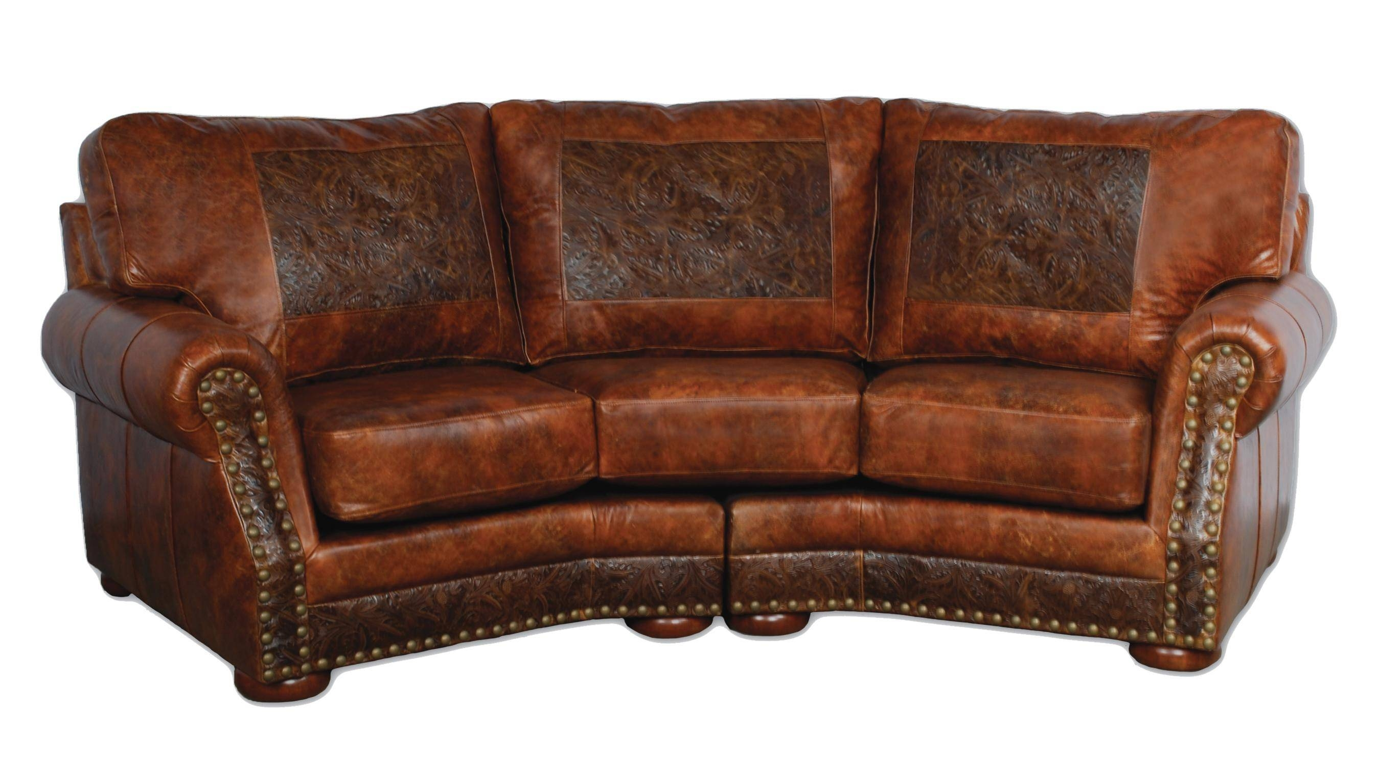 100 [ Full Grain Leather Sofa ]