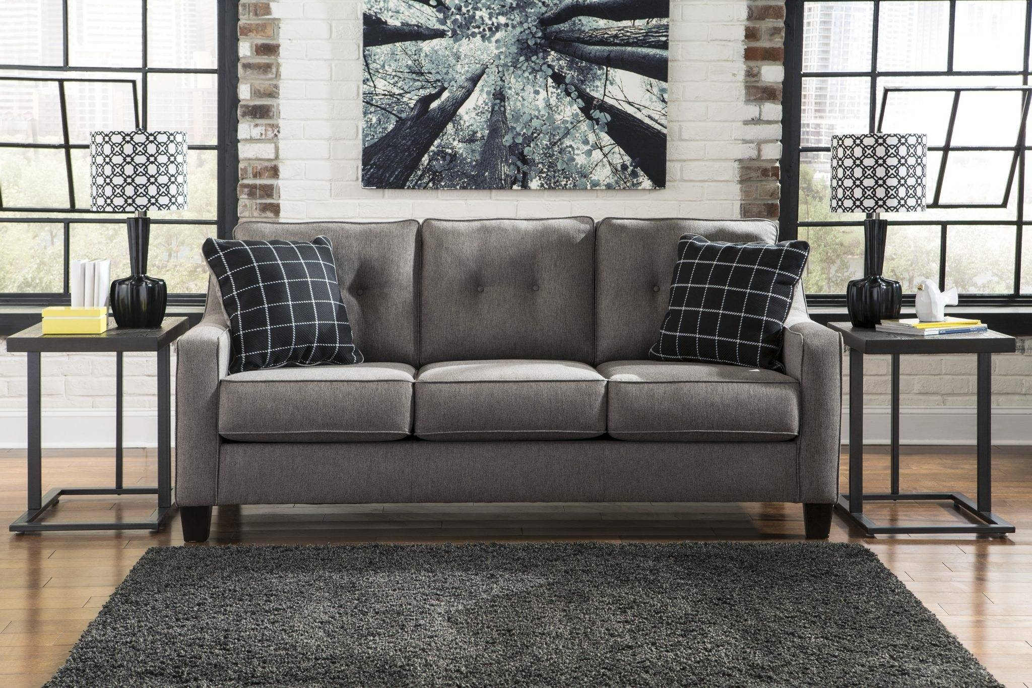 Best Furniture Mentor Oh: Furniture Store - Ashley Furniture for Ashley Furniture Gray Sofa (Image 13 of 30)