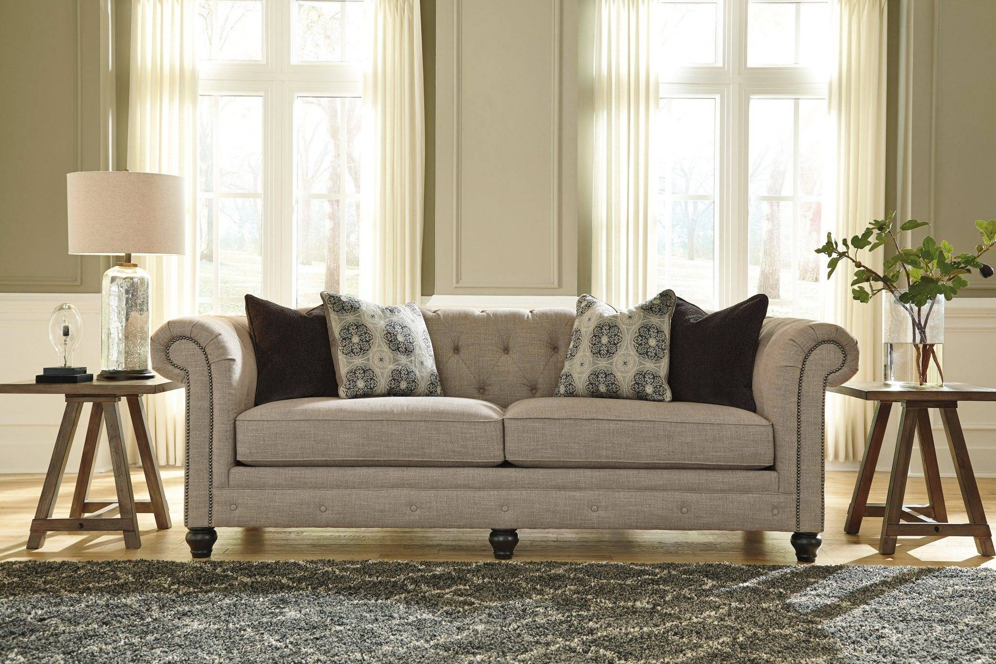 Best Furniture Mentor Oh: Furniture Store - Ashley Furniture inside Ashley Tufted Sofa (Image 10 of 30)