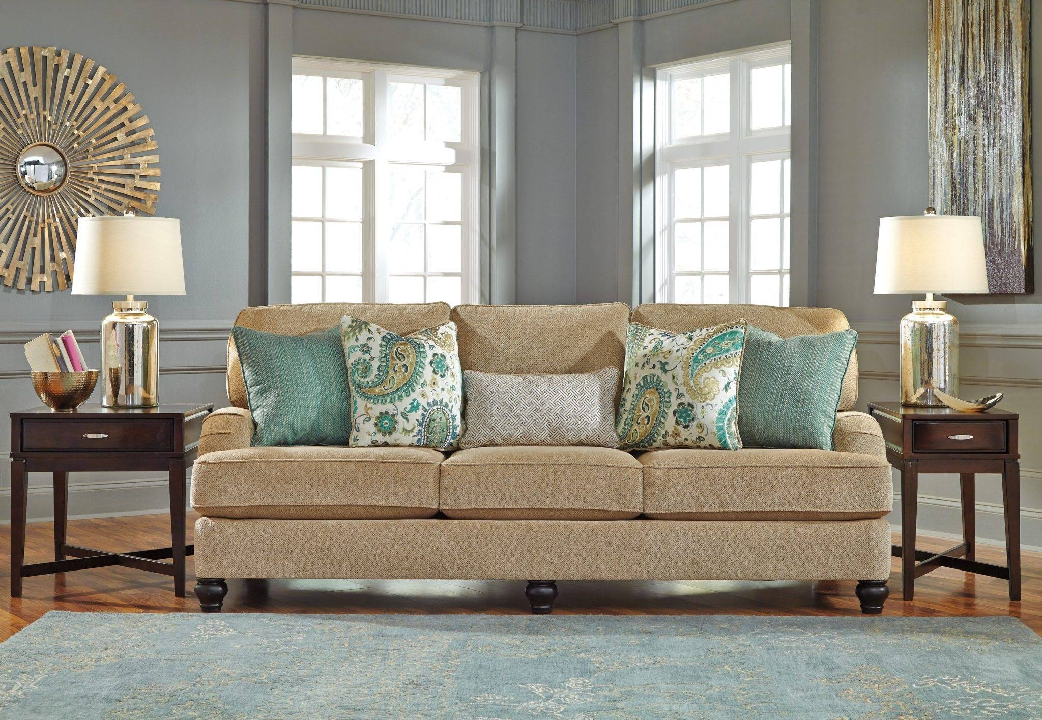 Best Furniture Mentor Oh: Furniture Store - Ashley Furniture within Ashley Tufted Sofa (Image 14 of 30)