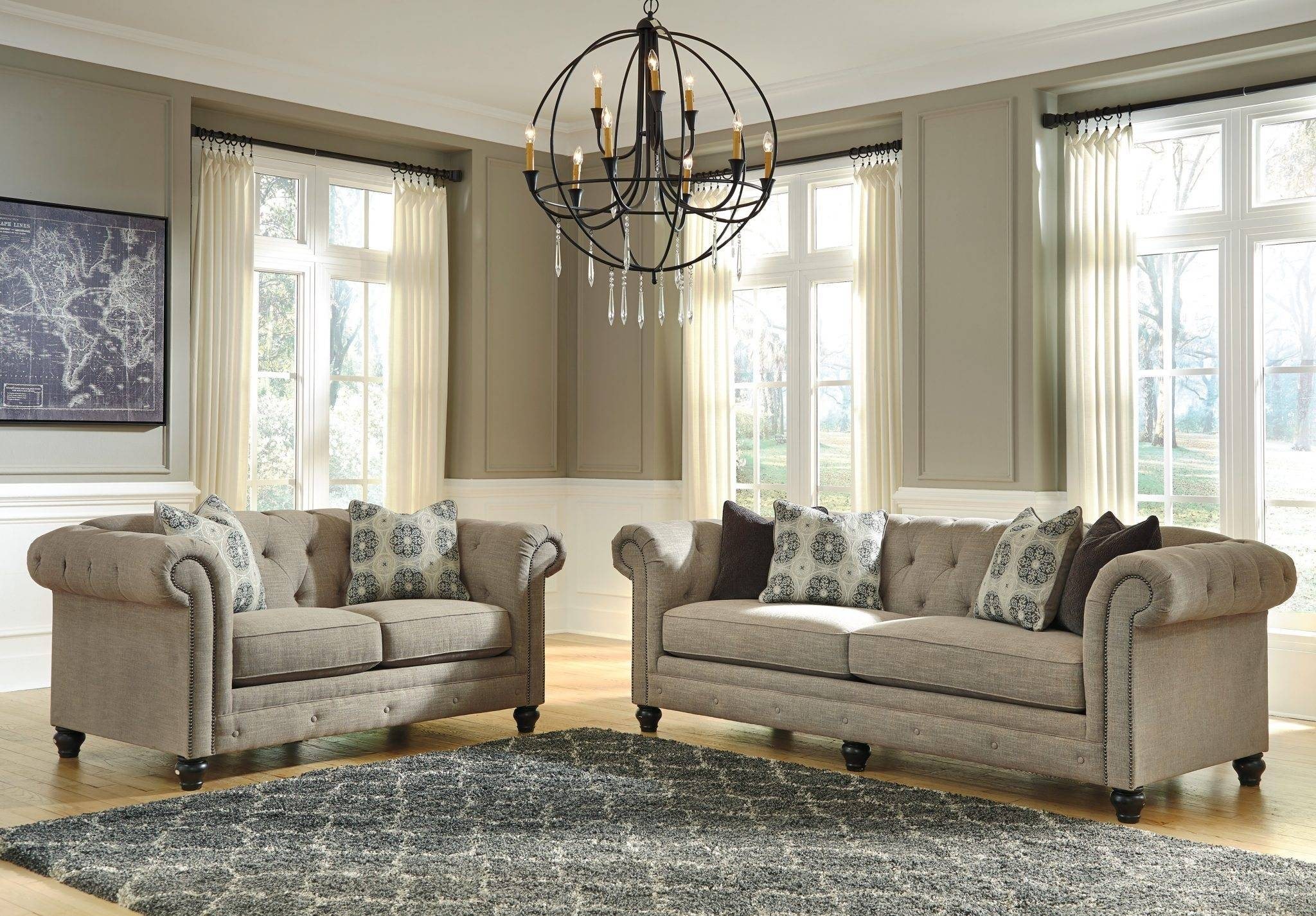Best Furniture Mentor Oh: Furniture Store – Ashley Furniture Within Ashley Tufted Sofa (Image 13 of 30)