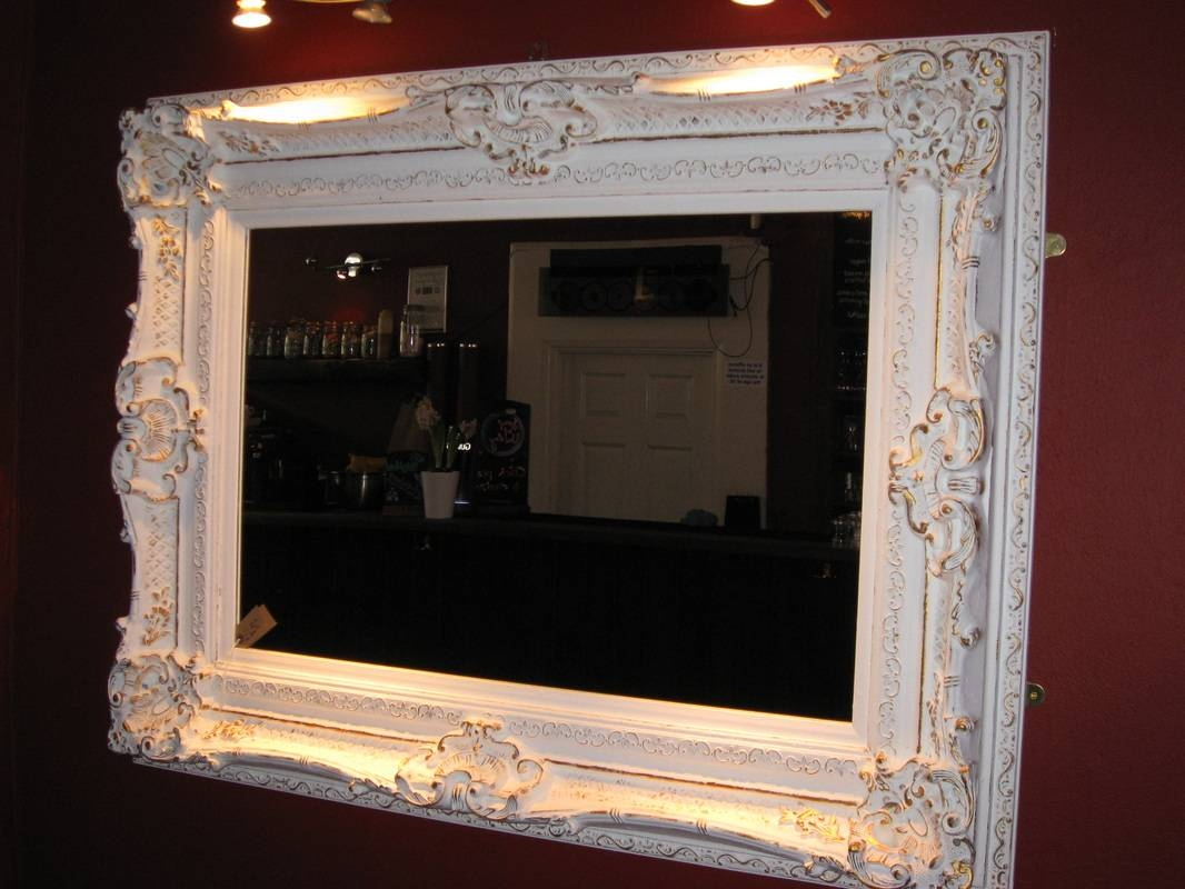 Best Gold Mirrors Ideas On White And Gold Mirrored Furniture White intended for White Ornate Mirrors (Image 5 of 25)