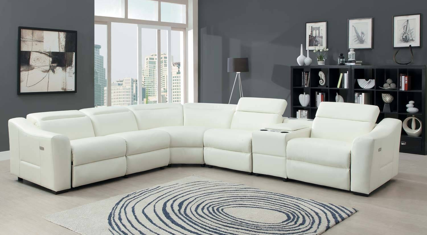 Best Leather Sectional Sofa With Power Recliner 59 On Durable regarding Durable Sectional Sofa (Image 9 of 30)