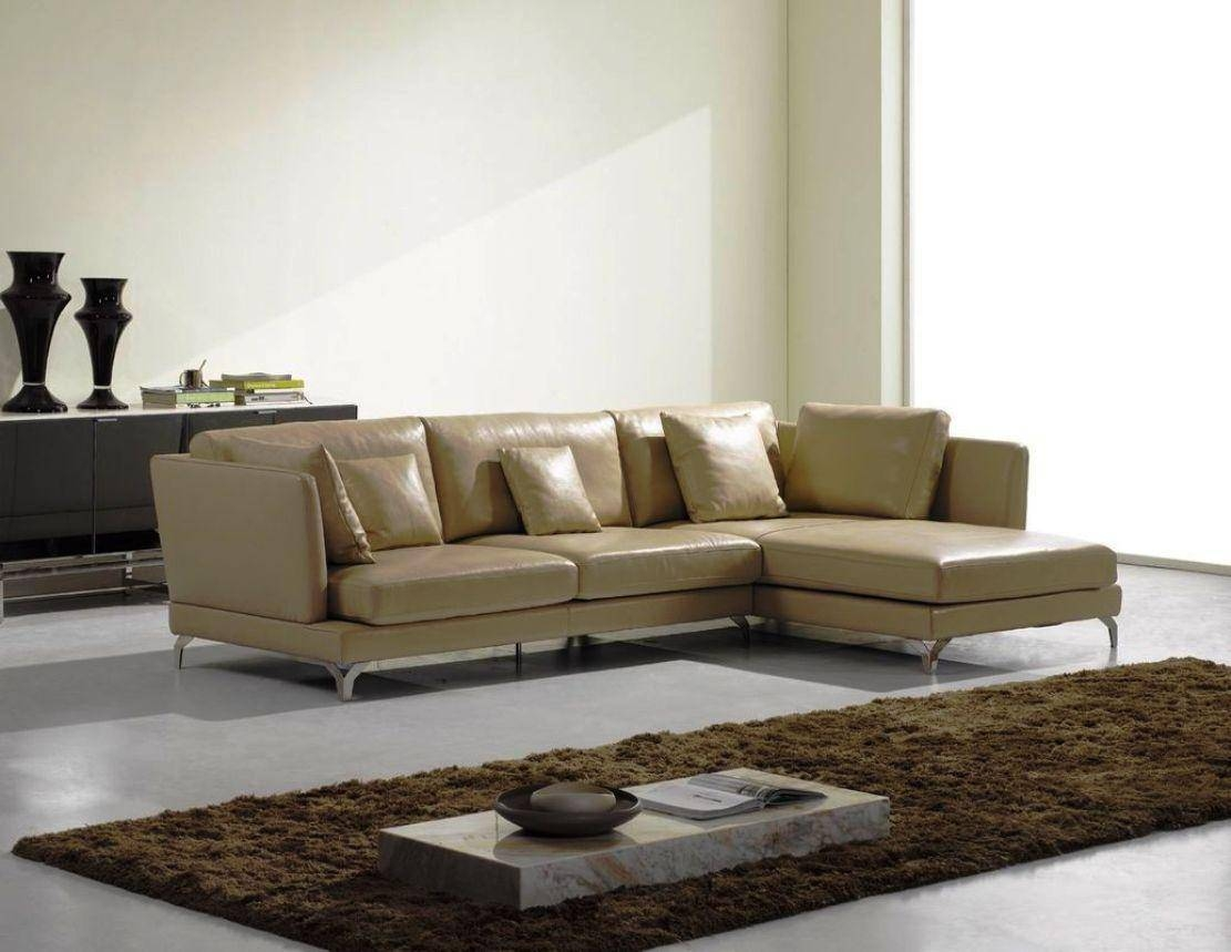 Best Modern Leather Sofa Sets throughout Modern Sofas Sectionals (Image 5 of 30)
