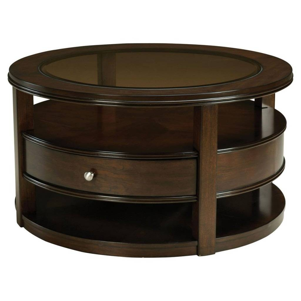Best Round Coffee Tables With Drawers Images – Round Coffee Table within Small Coffee Tables With Drawer (Image 1 of 30)