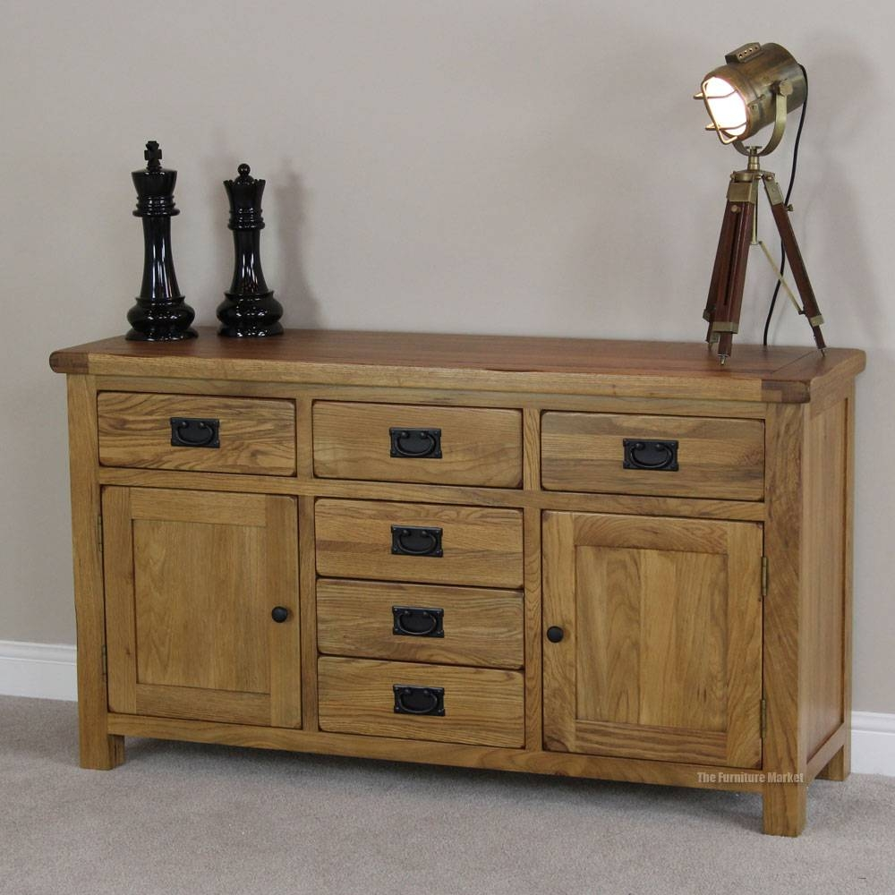 Best Rustic Sideboard Plans | Design Ideas And Decor Within Oak Sideboards (View 13 of 30)