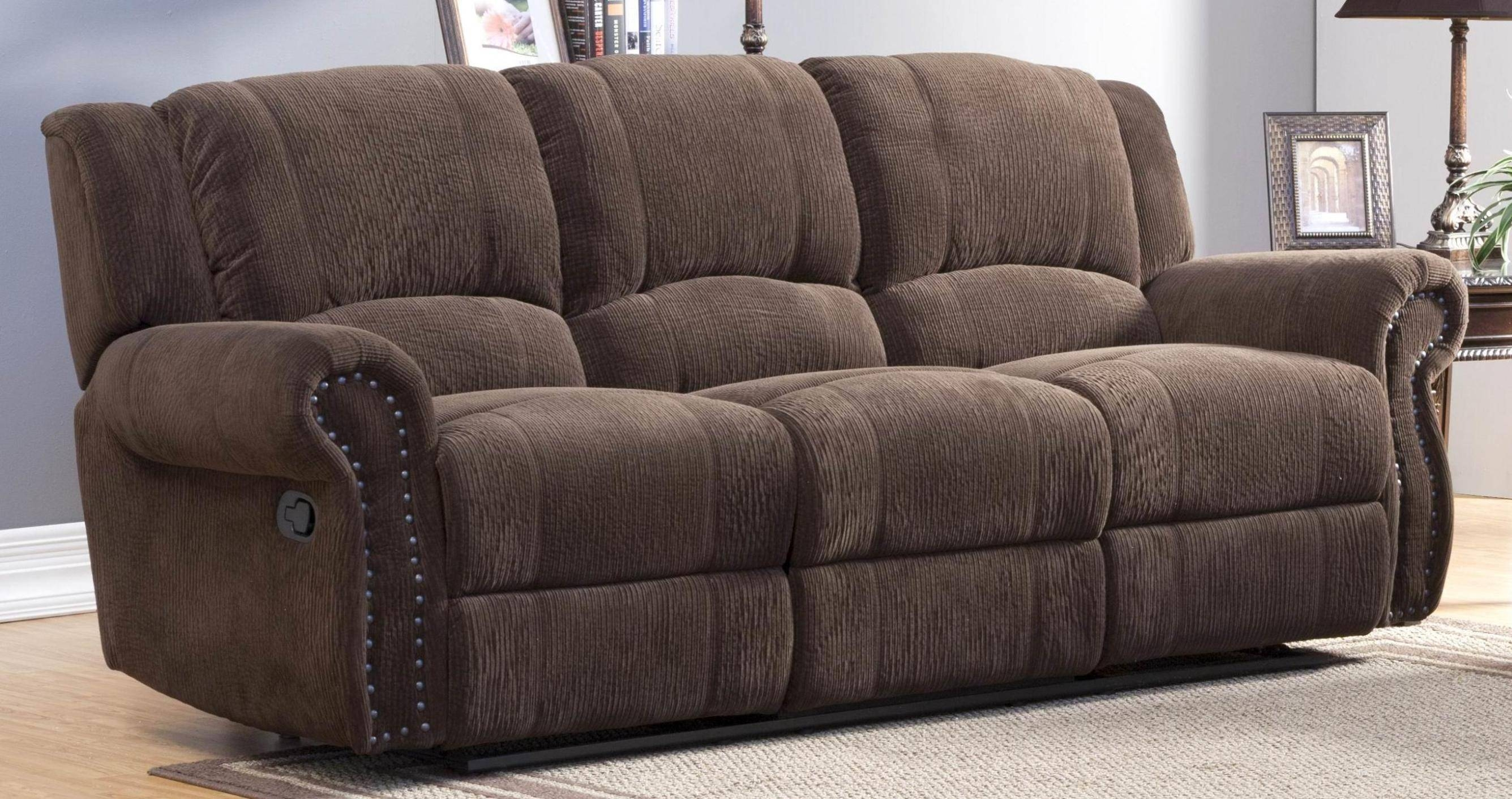 Best Slipcovers For Reclining Sectional Sofas with regard to Jedd Fabric Reclining Sectional Sofa (Image 2 of 30)