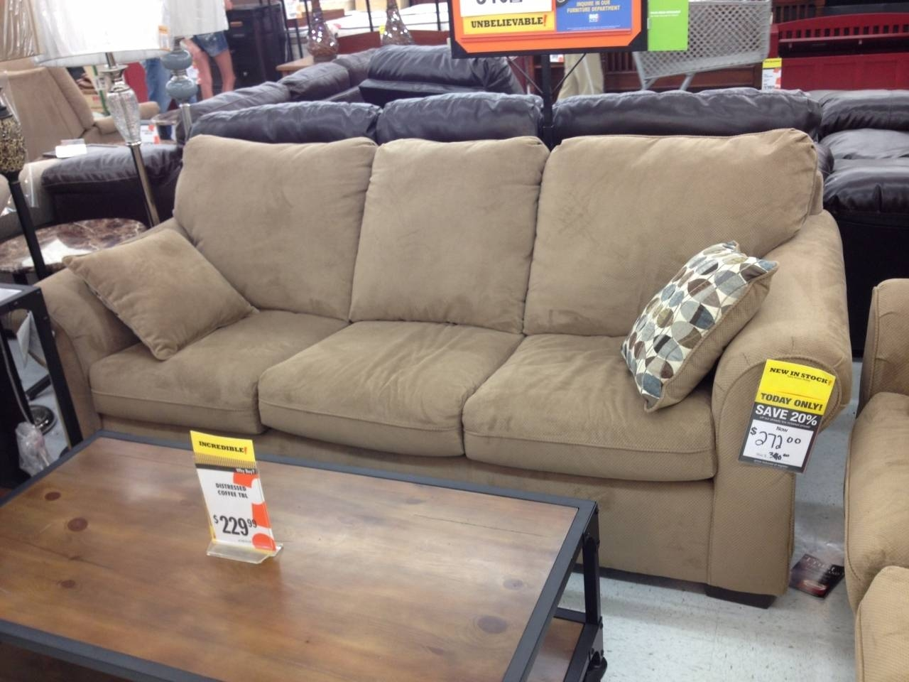 Best Small Sectional Sleeper Sofa Chaise - Sectional Sofas And Couches with regard to Big Lots Sofas (Image 1 of 30)