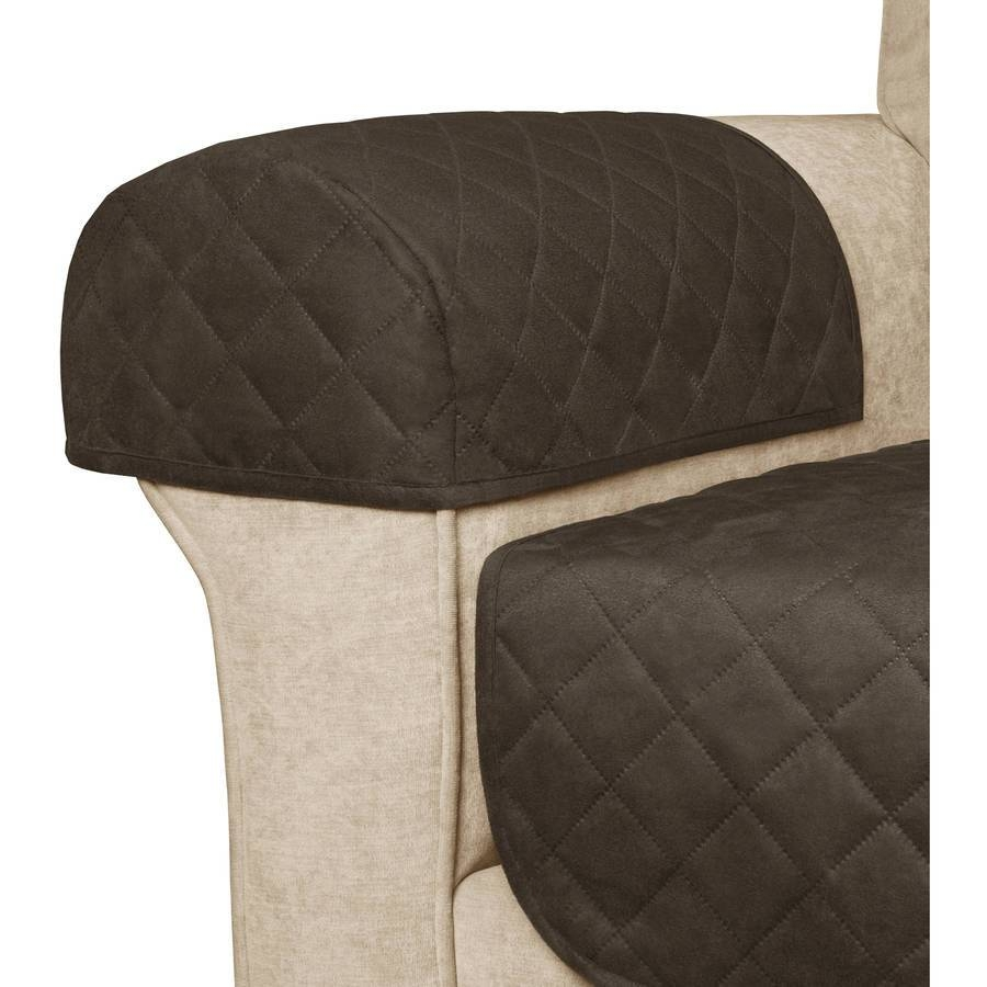 Better Homes And Gardens Waterproof Non-Slip Faux Suede Pet with regard to Arm Covers For Sofas (Image 2 of 30)