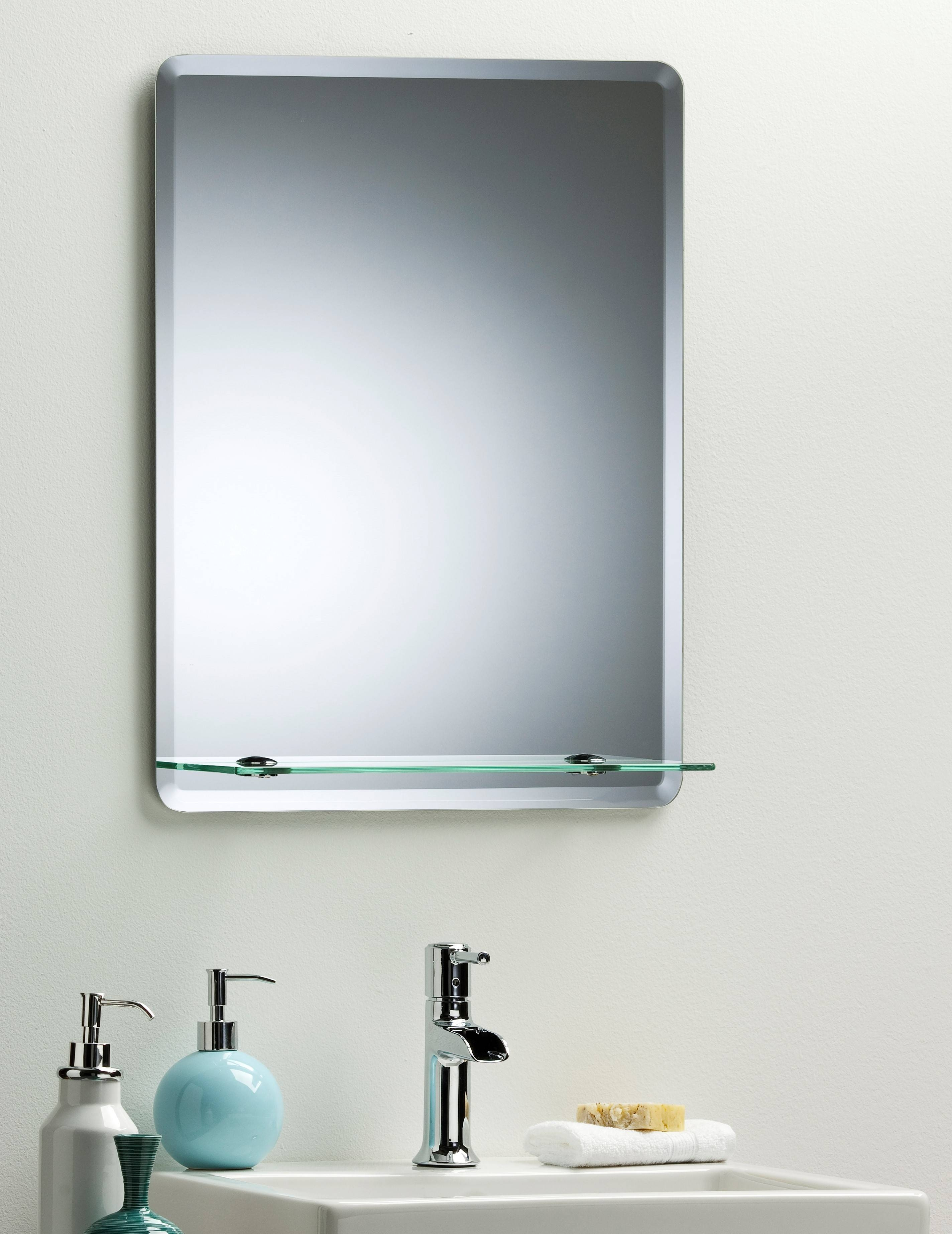 Bevelled Edge Bathroom Mirror – Harpsounds.co throughout Bevelled Wall Mirrors (Image 5 of 25)