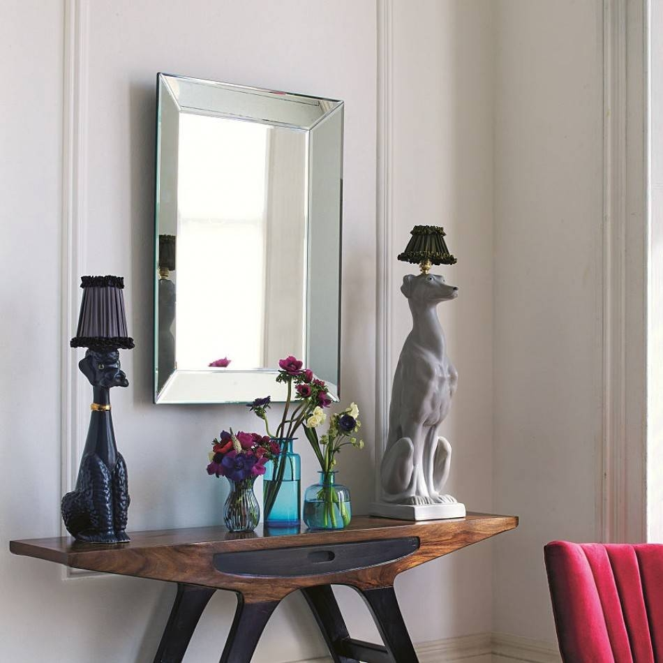 Bevelled Edge Mirror | Wall Mirrors | Graham & Green throughout Bevelled Mirrors (Image 7 of 25)