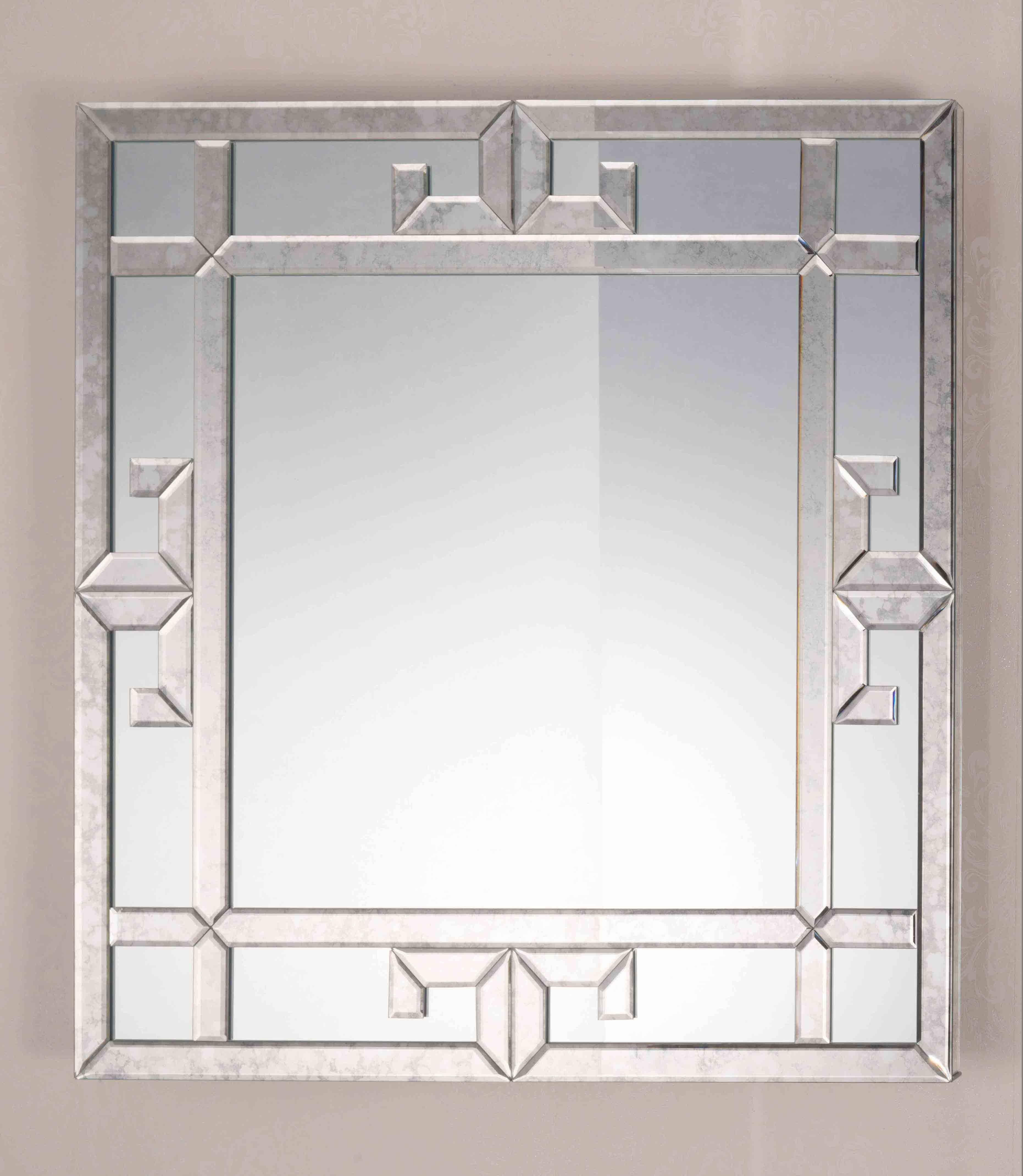 Bevelled Glass Mirrors Bathroom | Home with Bevelled Wall Mirrors (Image 7 of 25)