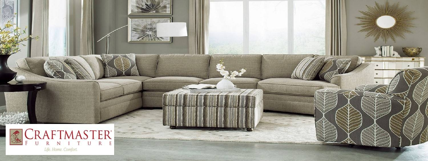 Bf Myers Furniture Store - Nashville, Franklin Goodlettsville for Craftmaster Sectional Sofa (Image 3 of 30)