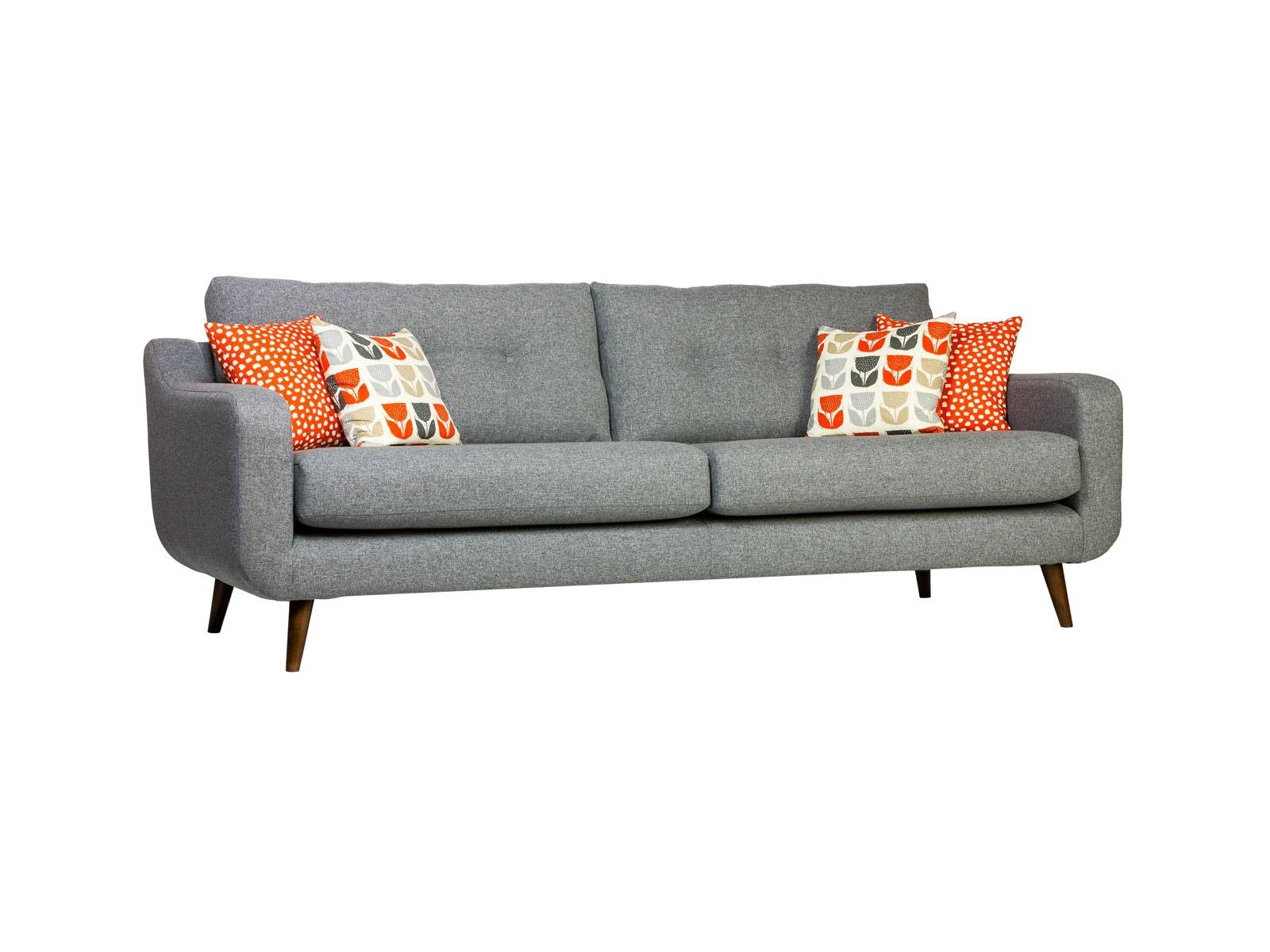 Biba 4 Seater Sofa Grade A | All Ranges | Cousins Furniture throughout 4 Seater Couch (Image 5 of 30)