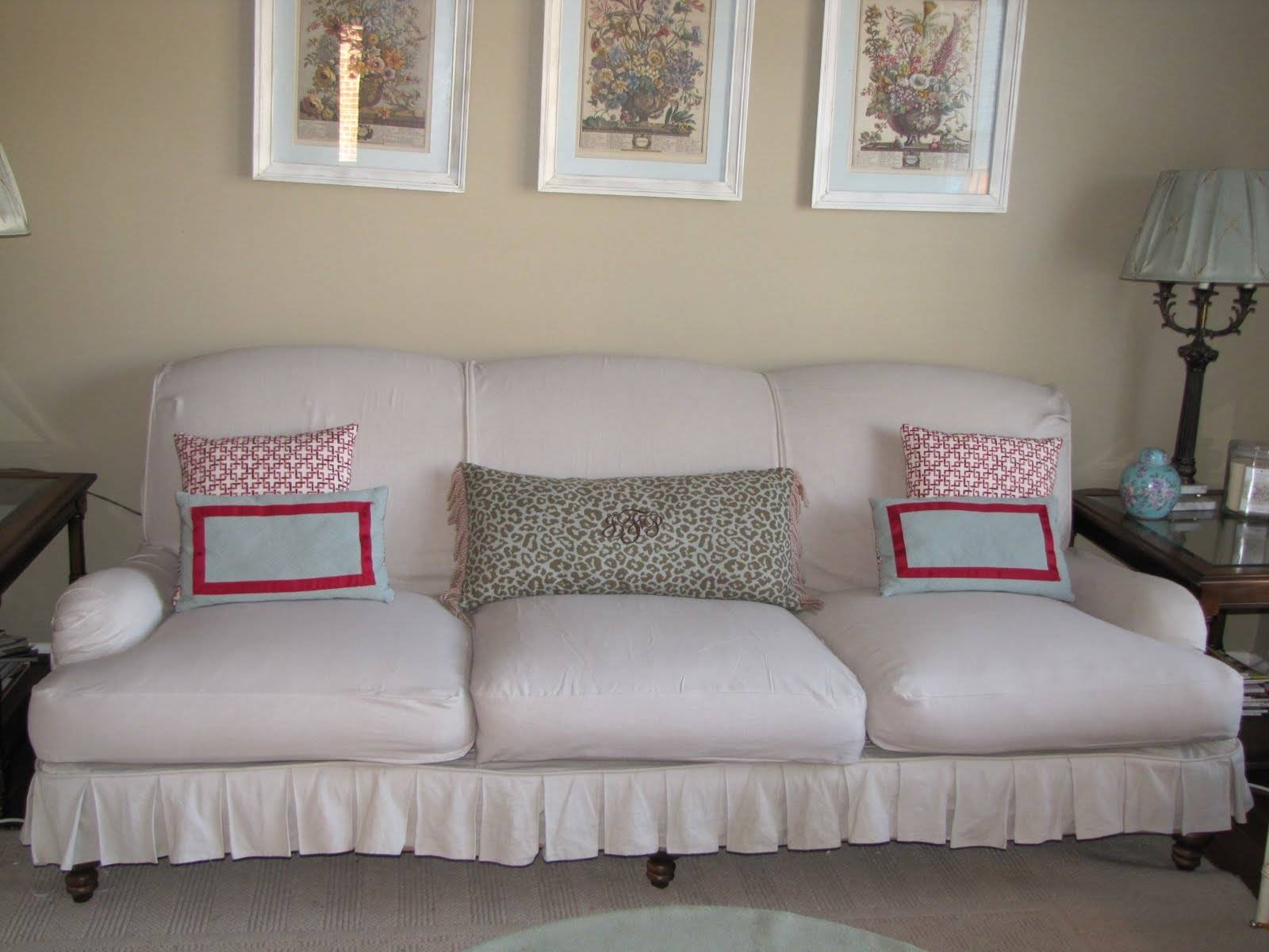 Bibbidi Bobbidi Beautiful: How To Slipcover Sofas And Chairs Regarding Slipcovers For Sofas And Chairs (View 1 of 30)