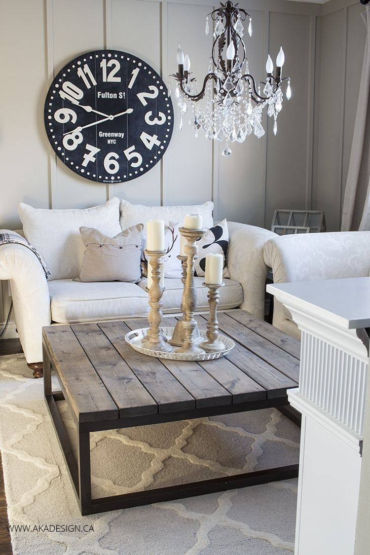 Big Coffee Table Small Living Room | Coffee Tables Decoration for Big Square Coffee Tables (Image 3 of 30)