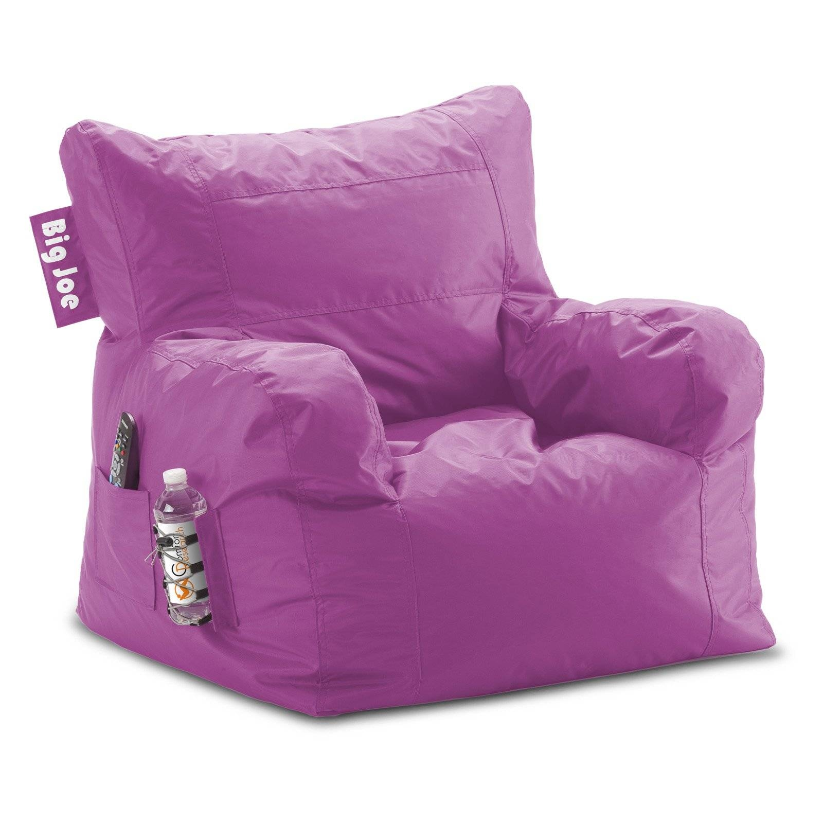 Big Joe Dorm Bean Bag Chair | Hayneedle pertaining to Bean Bag Sofa Chairs (Image 5 of 15)