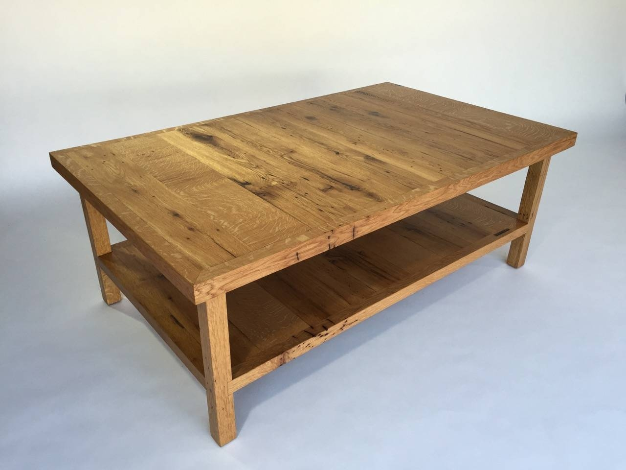 Big Sur White Oak Coffee Table – Mecox Gardens Throughout White And Oak Coffee Tables (View 8 of 30)