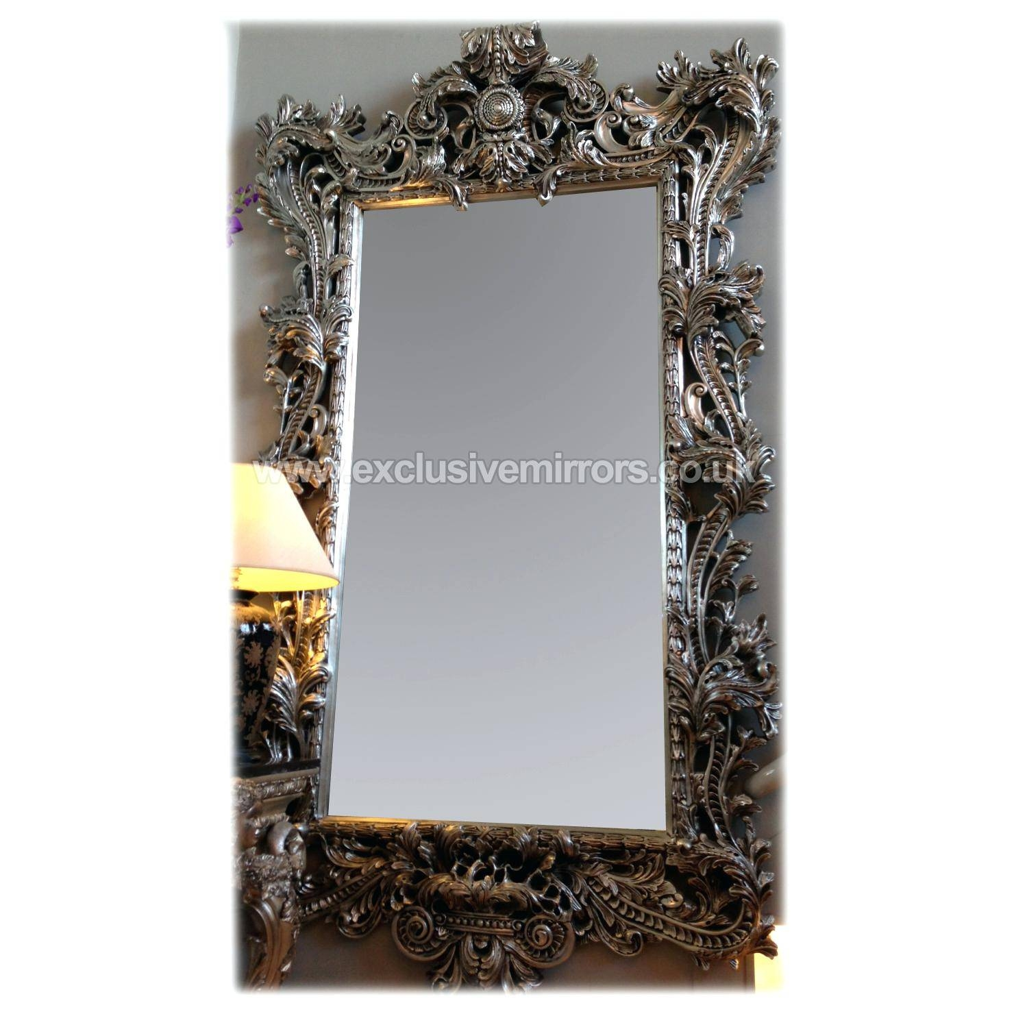 Big Wall Mirror – Shopwiz with Big Silver Mirrors (Image 8 of 25)