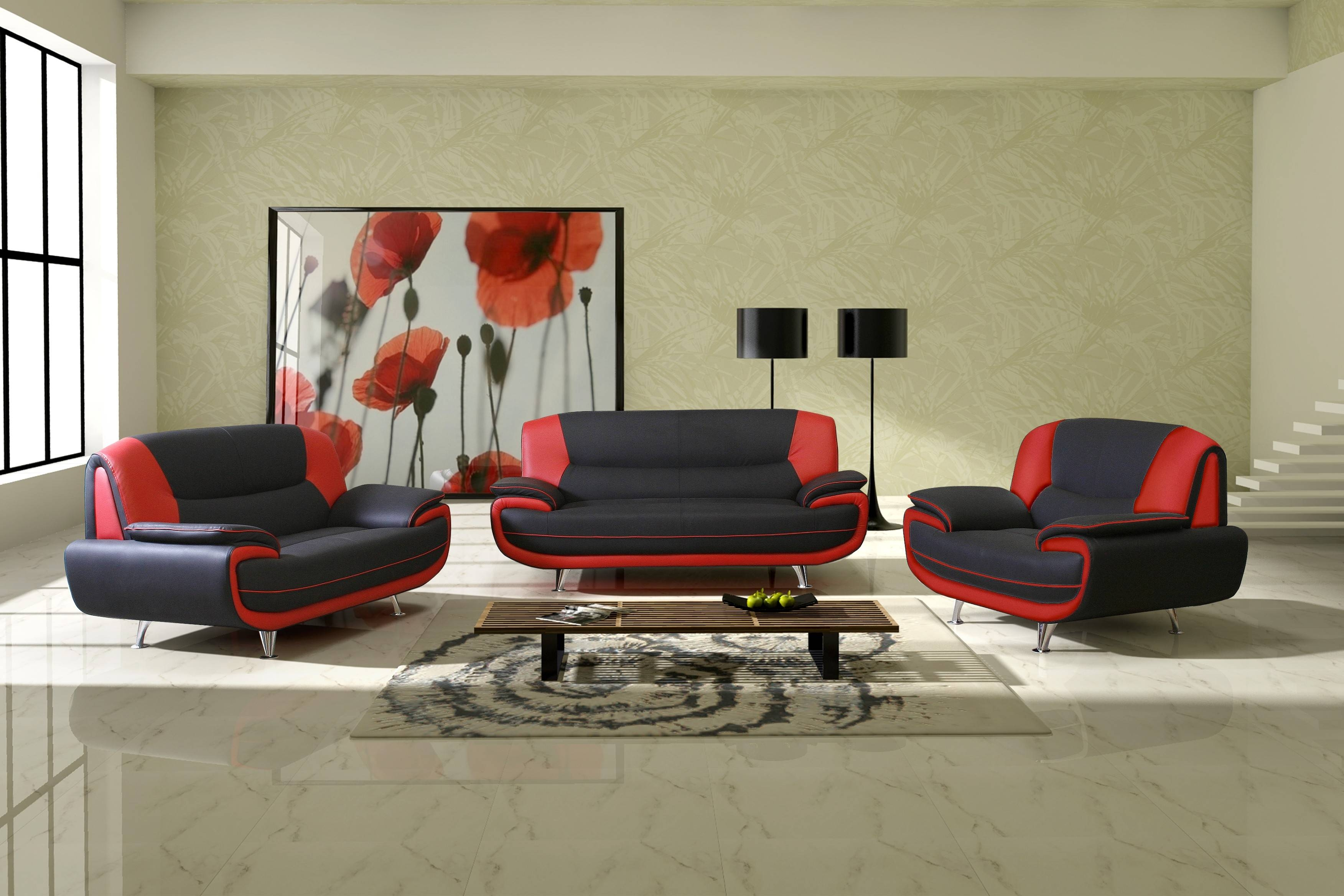 Black And Red Sofa With Ideas Hd Photos 25587 | Kengire Inside Sofa Red And Black (View 10 of 25)