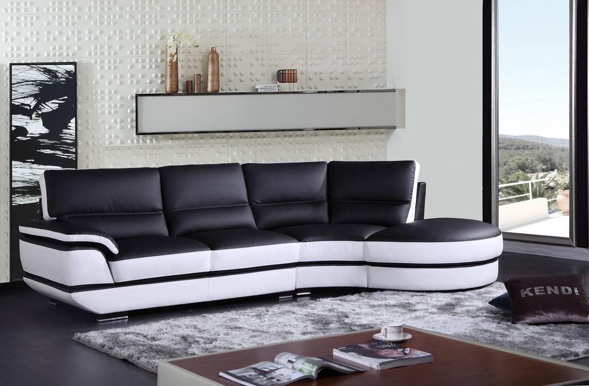 Black And White Sectional Sofas – Hotelsbacau Pertaining To Black And White Sectional Sofa (View 3 of 30)