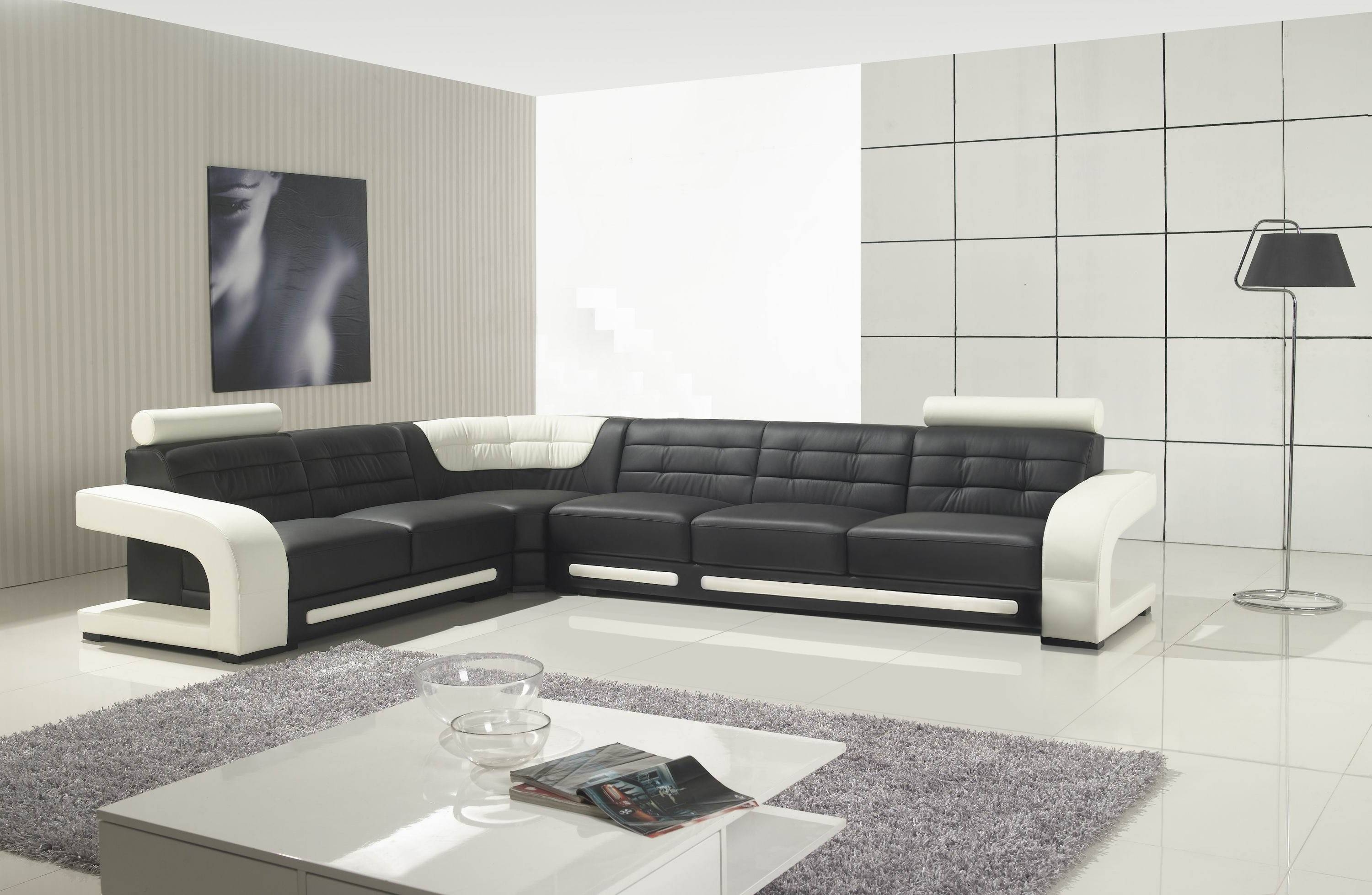 Black And White Sofa Best - S3Net - Sectional Sofas Sale : S3Net in White And Black Sofas (Image 11 of 30)