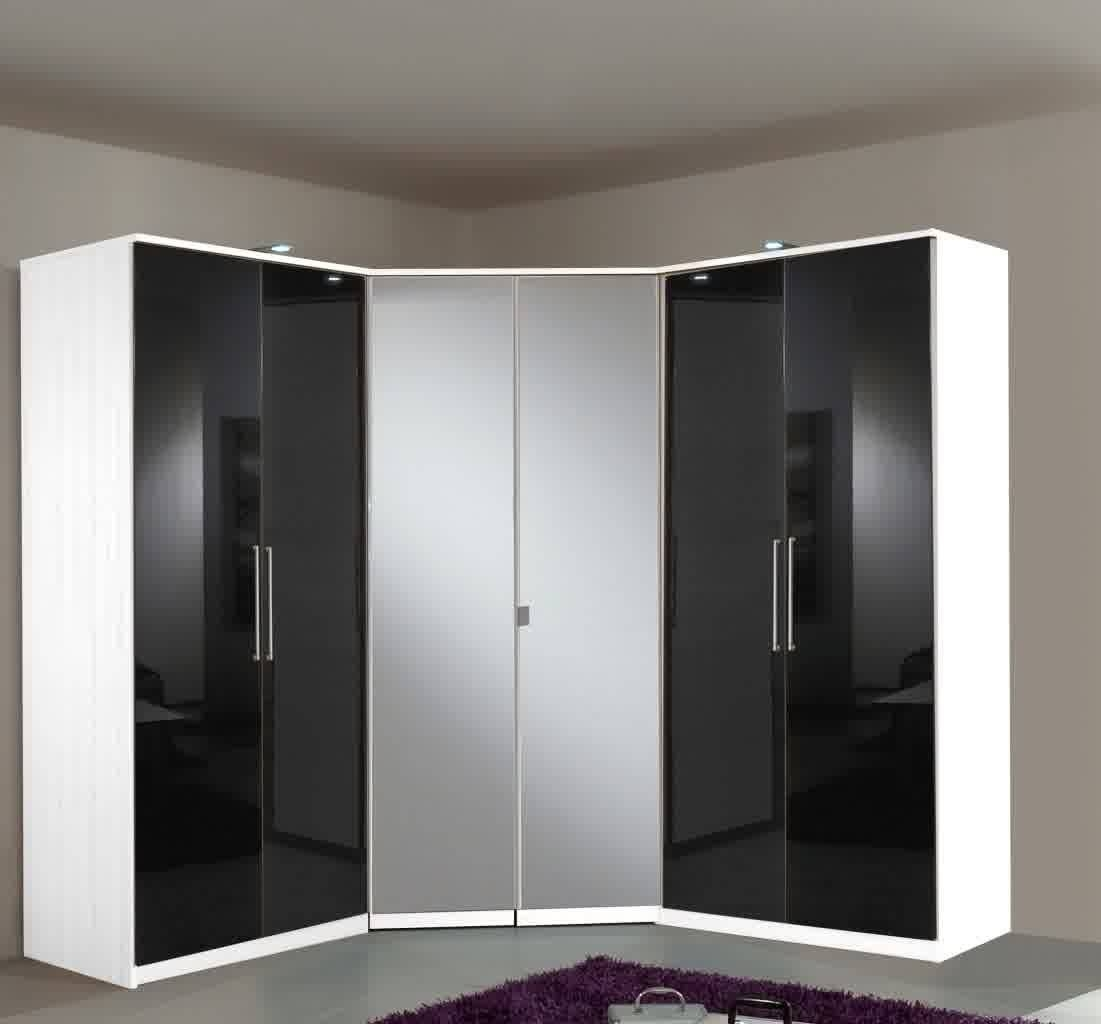 Black Bedroom Furniture Ideas White High Gloss Ikea Wardrobes Pax pertaining to High Gloss Black Wardrobes (Image 1 of 15)