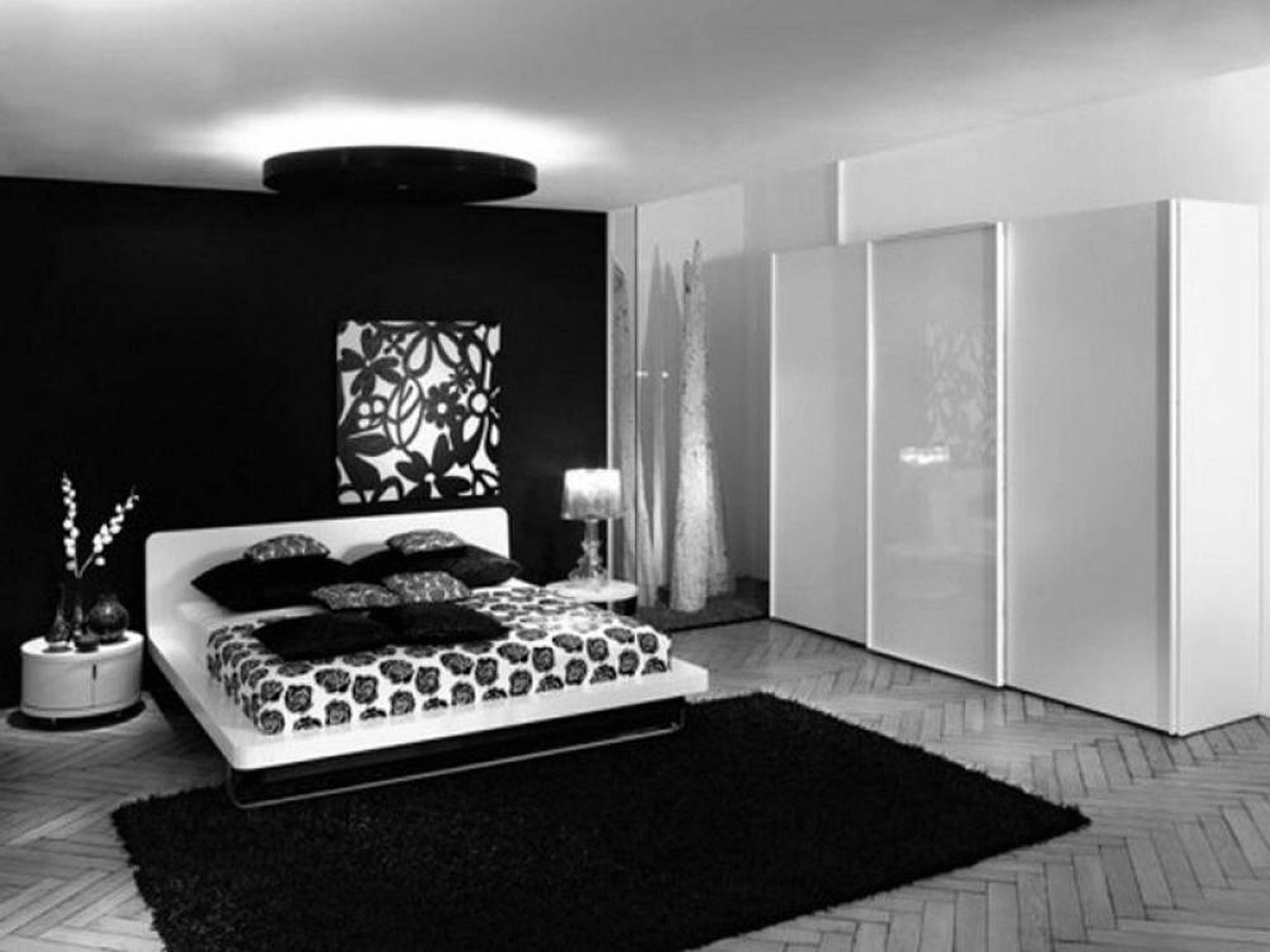 Black Bedroom Furniture Sets | Bedroom Design Ideas intended for Black and White Wardrobes Set (Image 6 of 15)