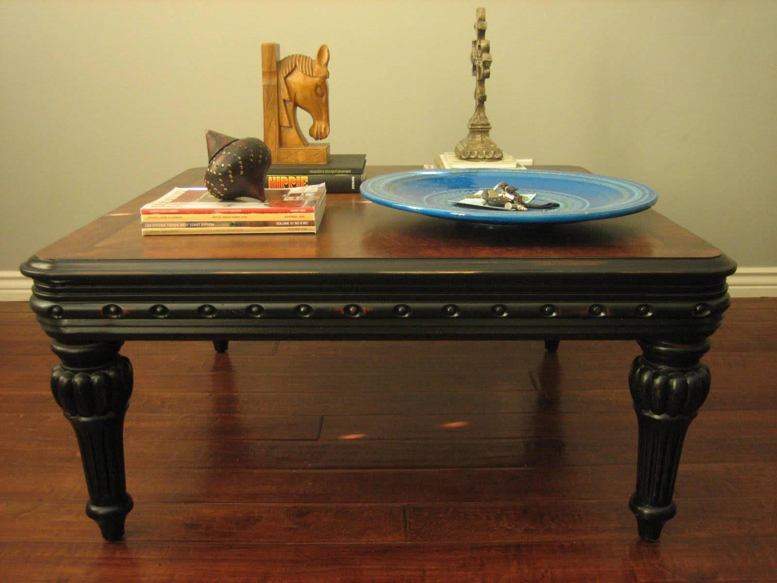 Black Coffee Table for Coffee Tables With Rounded Corners (Image 3 of 30)