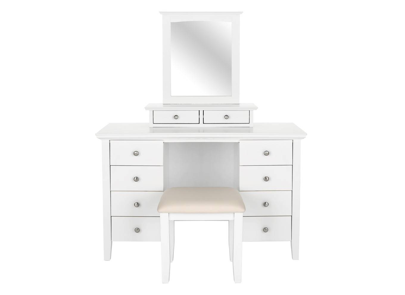 Black Dressing Table Mirror With Drawers | Creative Vanity Decoration for Black Dressing Mirrors (Image 6 of 25)