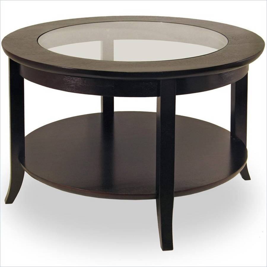 Black Glass Coffee Table - Jericho Mafjar Project regarding Oval Black Glass Coffee Tables (Image 3 of 30)