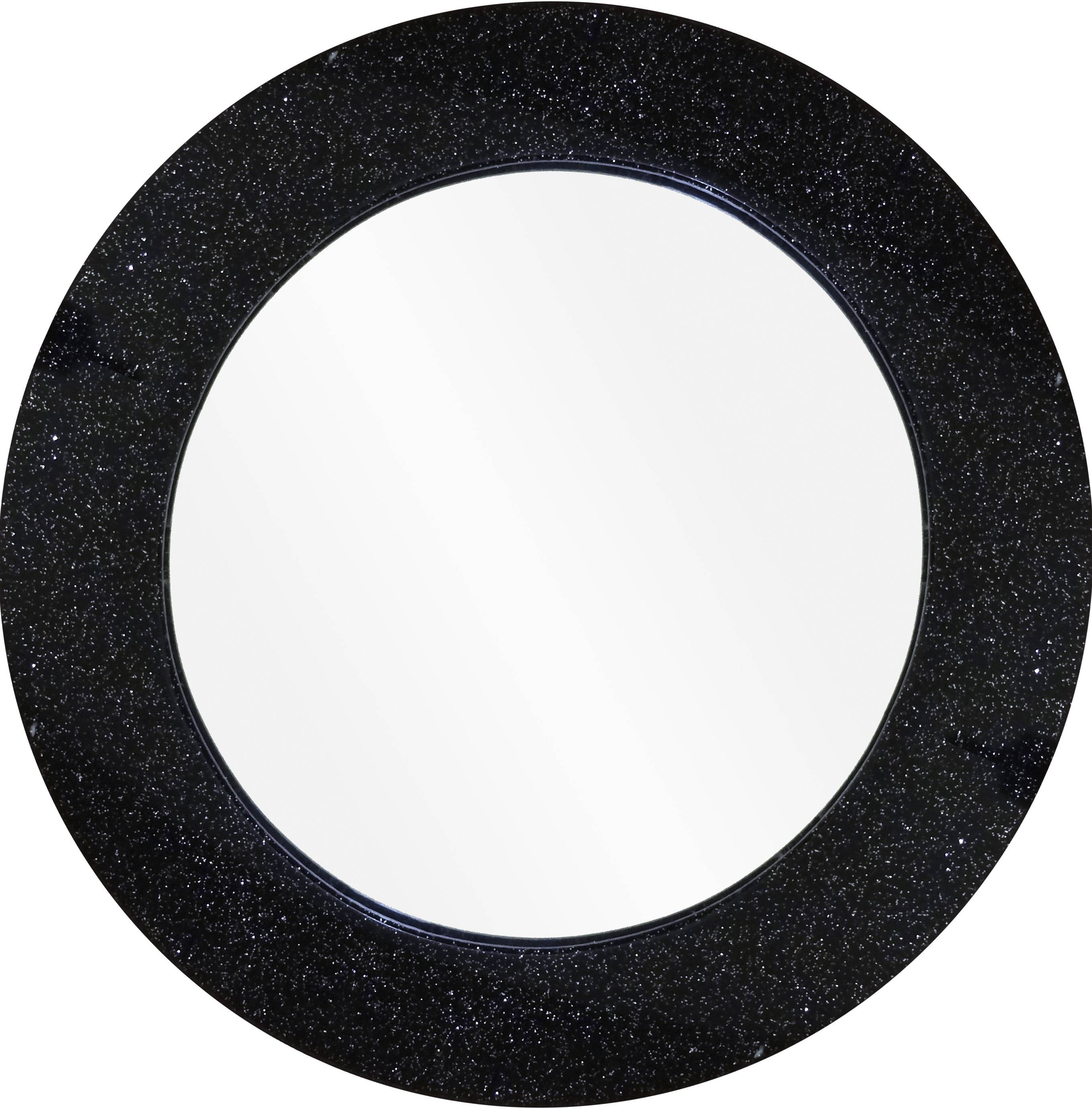Black Glitter Mirror | Potty Training Concepts with regard to Silver Glitter Mirrors (Image 7 of 25)