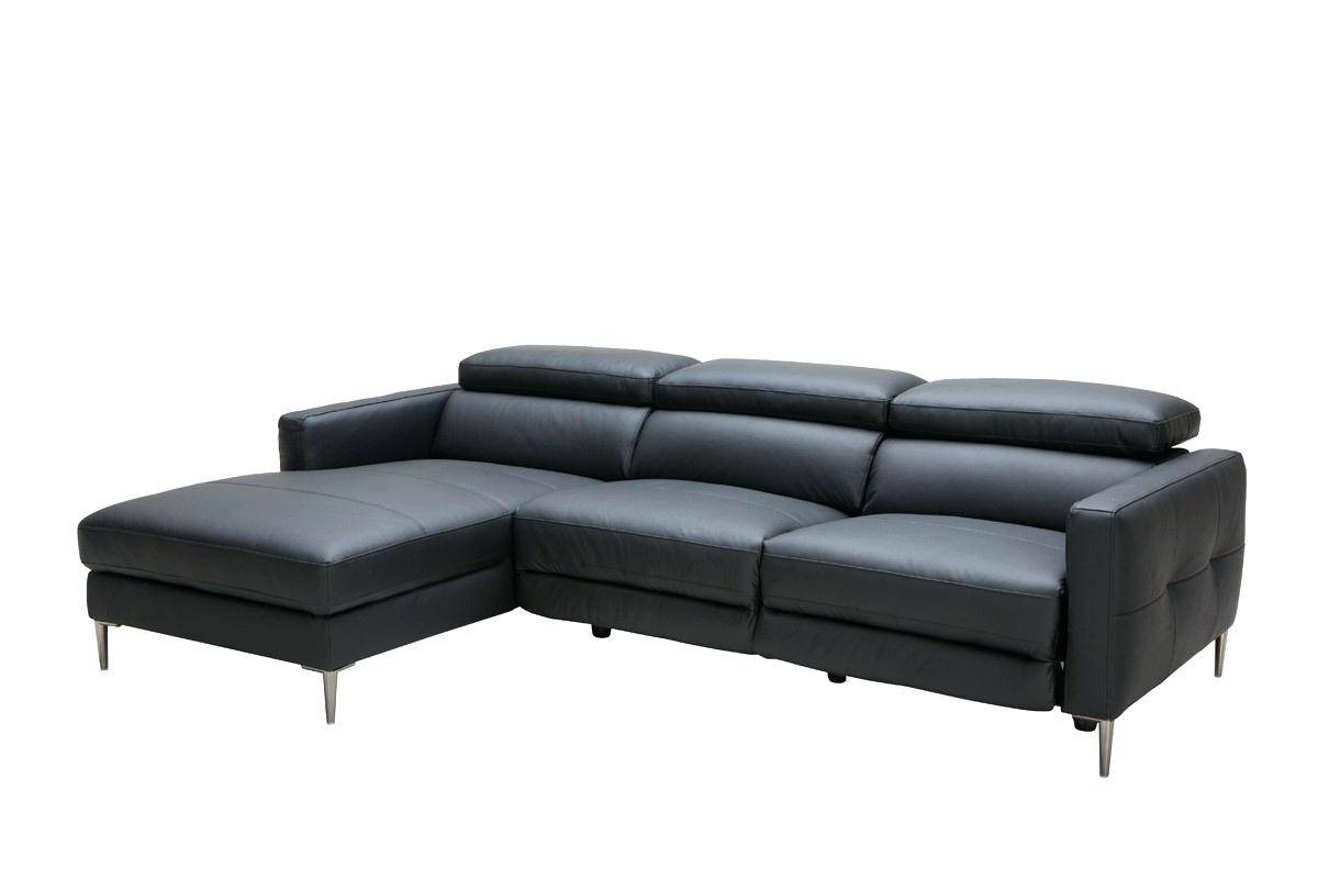 Black Leather Sofa Recliner – Lenspay inside Modern Reclining Leather Sofas (Image 2 of 30)