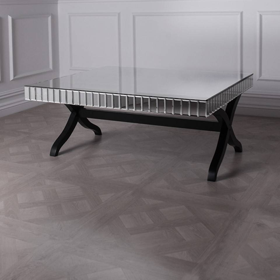 Black Orchid | Designer Coffee Tables | Unique Coffe Tables with Mirrored Coffee Tables (Image 3 of 30)