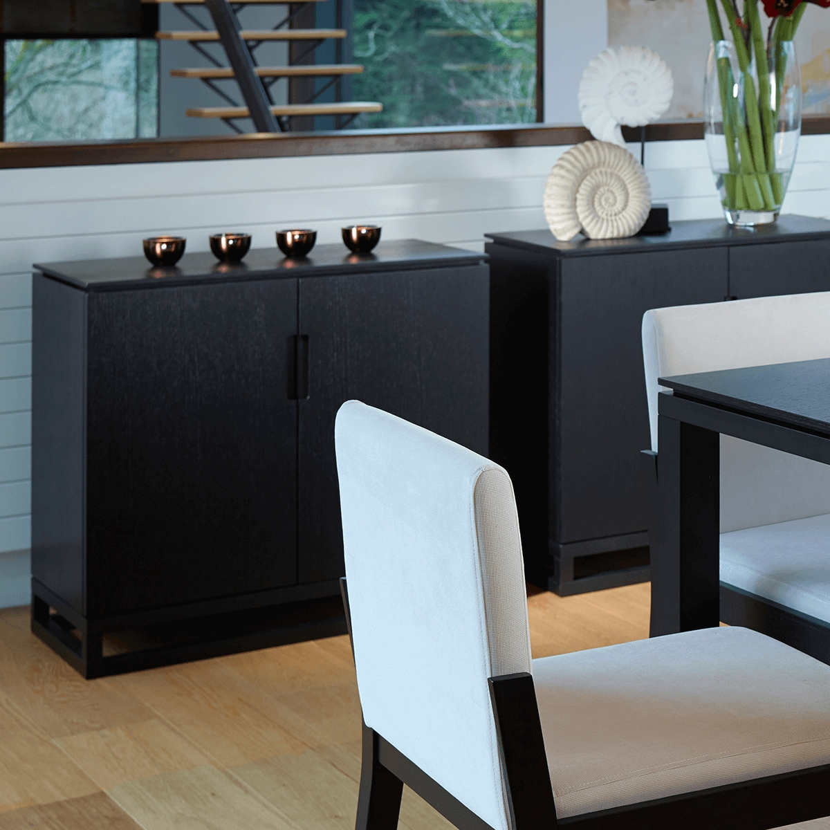 Black Stained Retro Sideboards | Sideboards At Zurleys Uk regarding Retro Sideboards (Image 6 of 30)