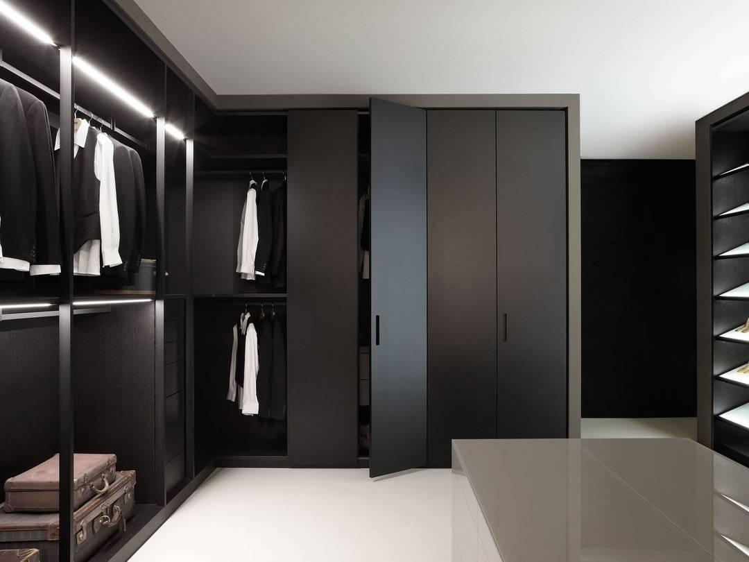 Black Wardrobe Closet Is Elegant Organizers Image Of Bedroom ~ Idolza in Large Black Wardrobes (Image 5 of 15)