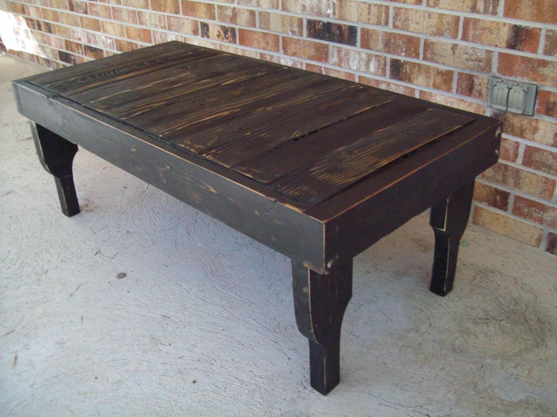 Black Wood Coffee Table – Black Wood Square Coffee Table, Black intended for Black Wood Coffee Tables (Image 6 of 30)