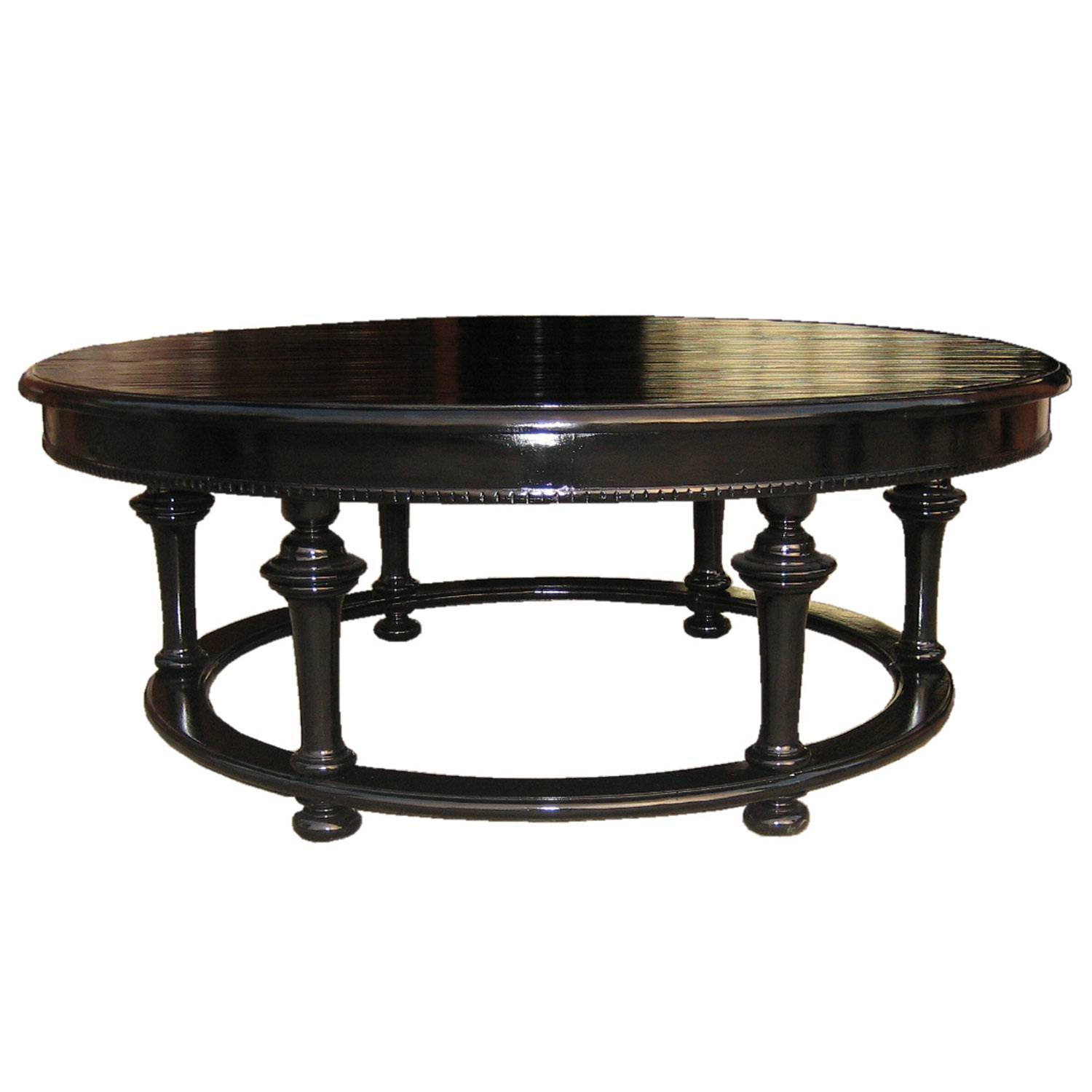 Black Wood End Tables And Coffee Table Sets Almost Round Setblack throughout Black Wood Coffee Tables (Image 7 of 30)