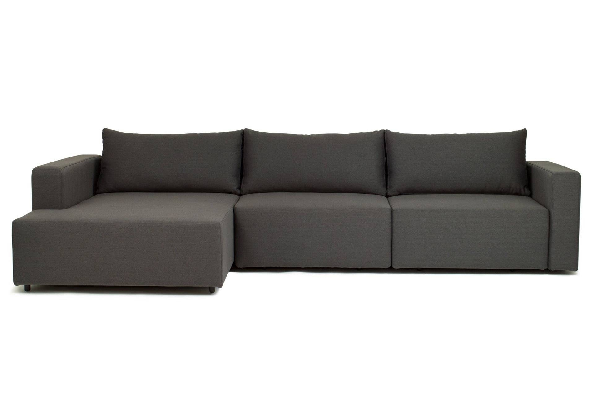 Block 3 Seat - Corner Sofa Bed | Loungelovers throughout Corner Couch Bed (Image 6 of 30)