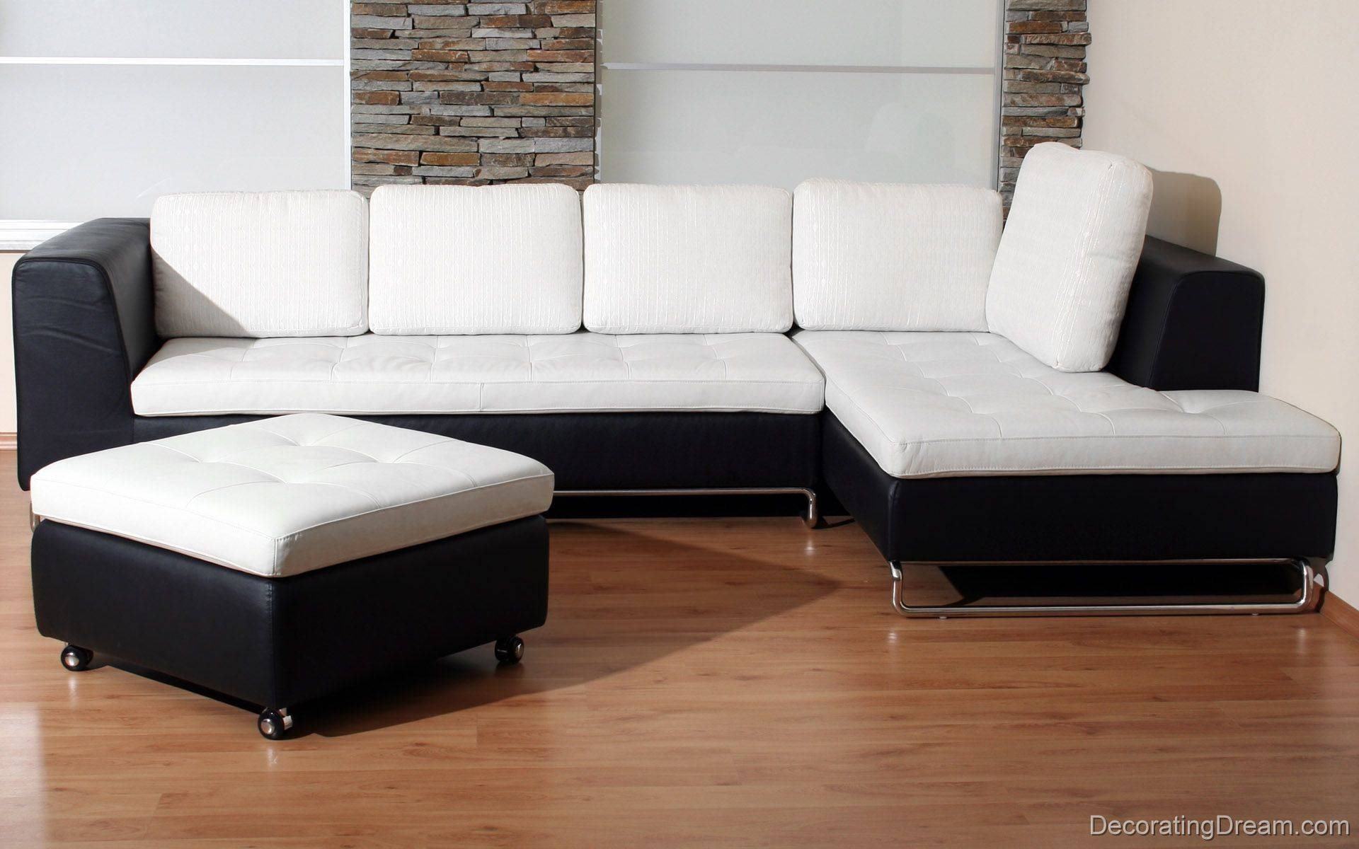 30 Collection of White and Black Sofas